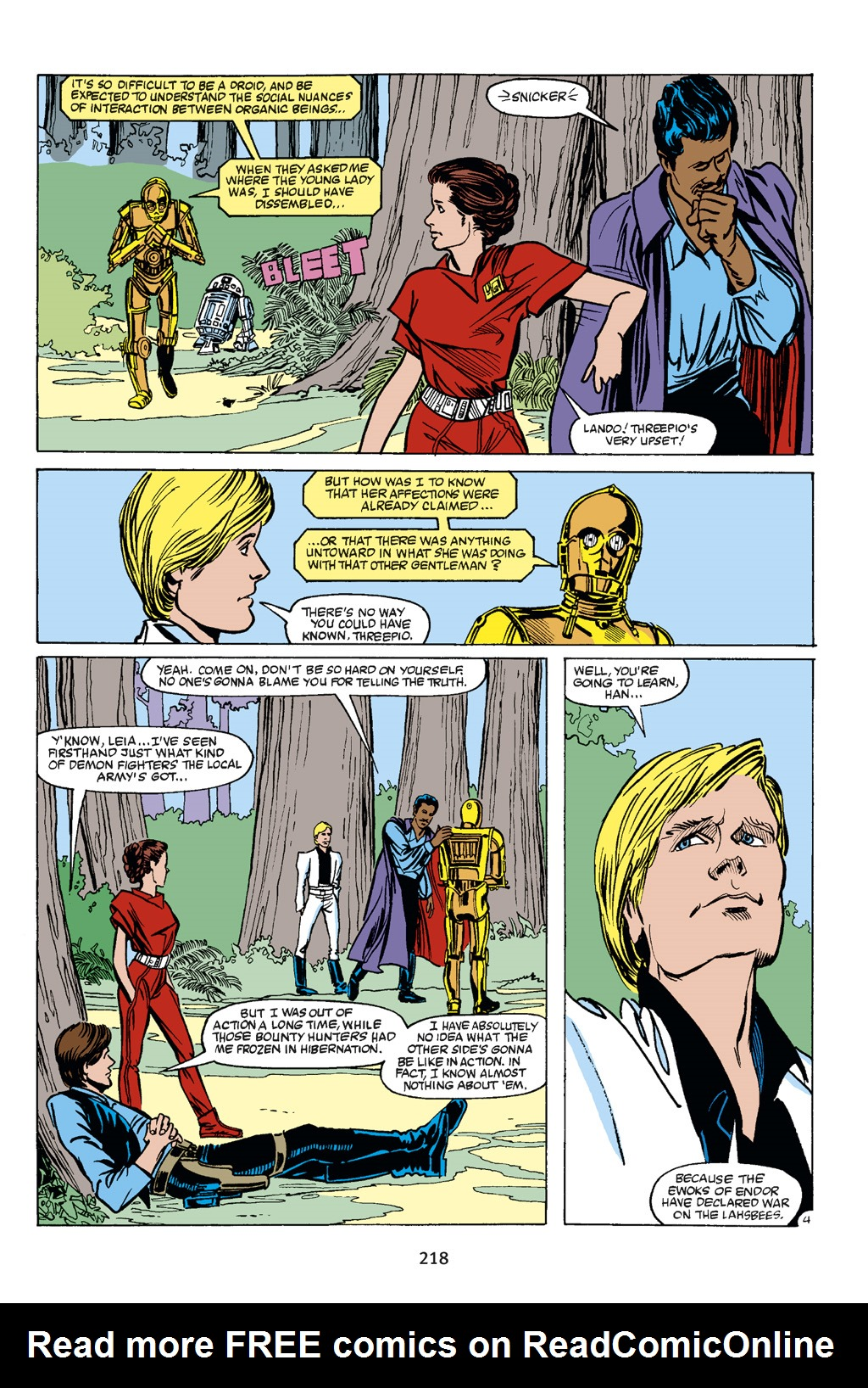 Read online Star Wars Omnibus comic -  Issue # Vol. 21 - 209