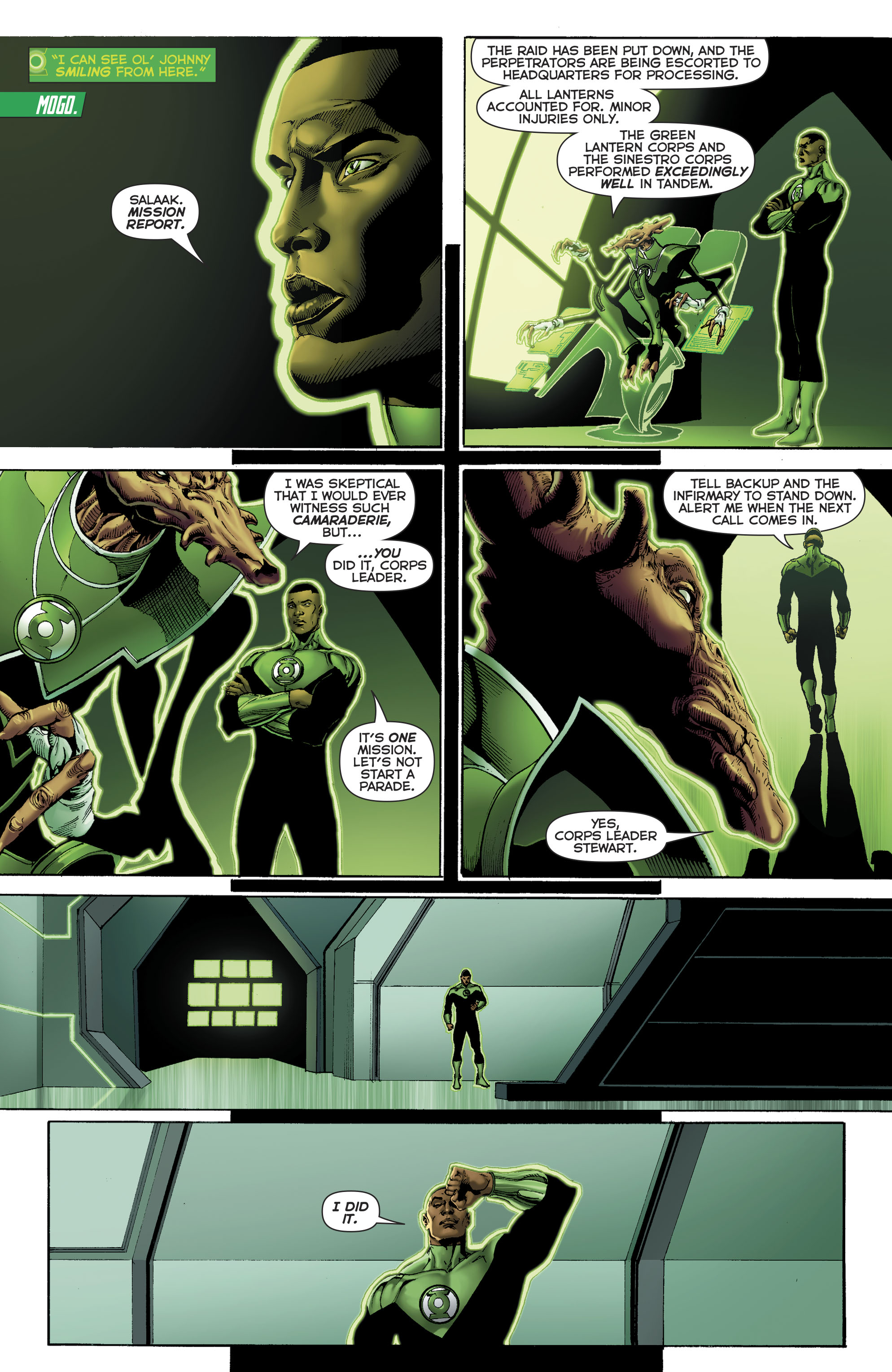 Read online Hal Jordan And The Green Lantern Corps comic -  Issue #22 - 18