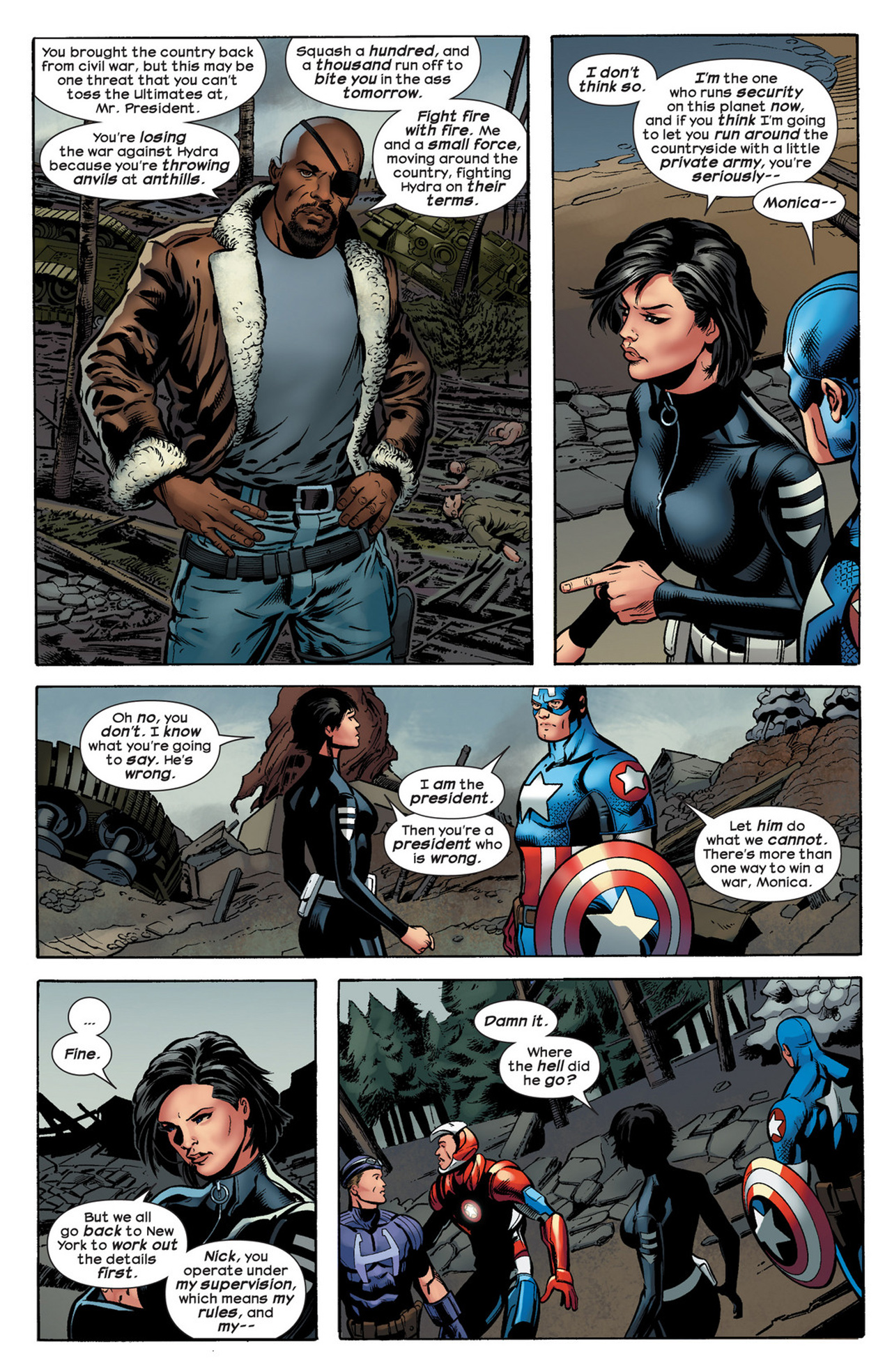 Read online Ultimate Comics Ultimates comic -  Issue #21 - 18