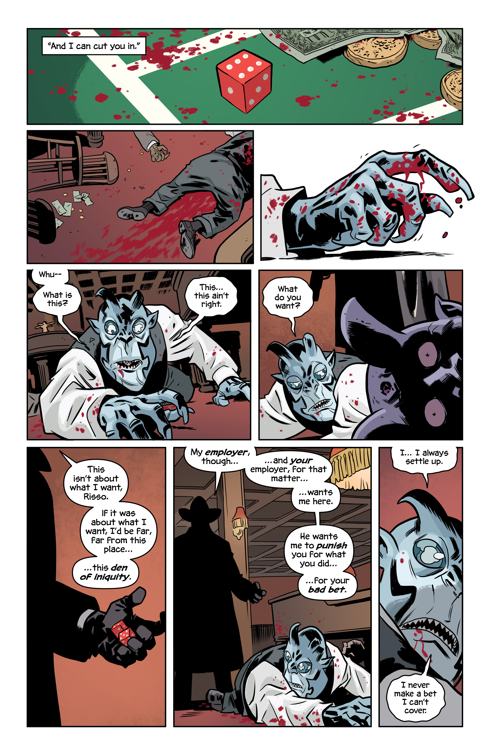 Read online The Damned comic -  Issue #2 - 23