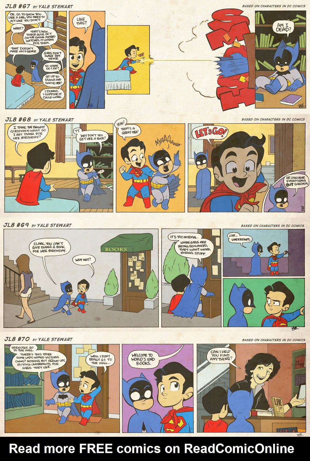 Read online JL8 – The Complete Collection comic -  Issue # TPB (Part 1) - 37