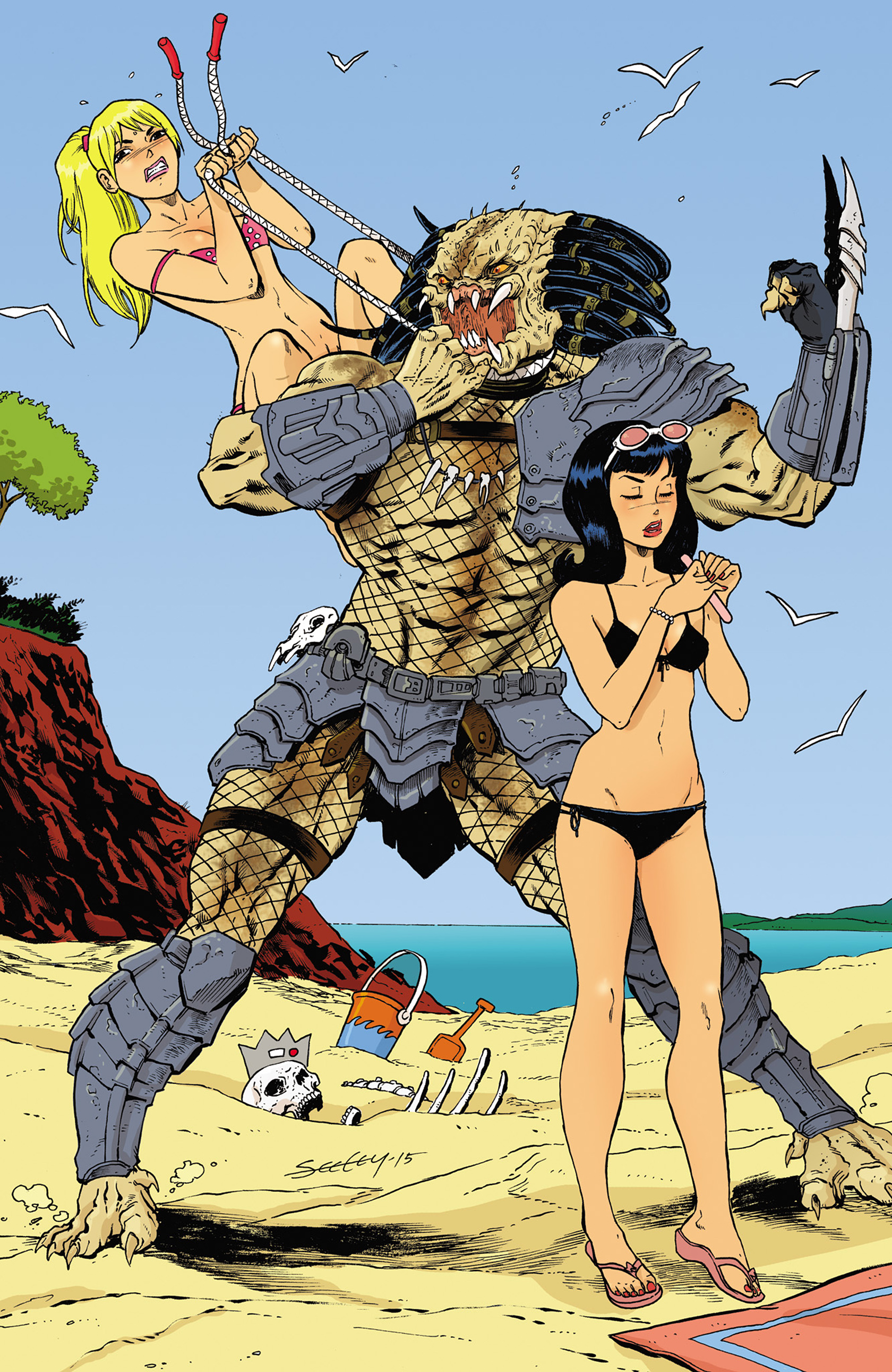 Read online Archie vs. Predator comic -  Issue #2 - 27
