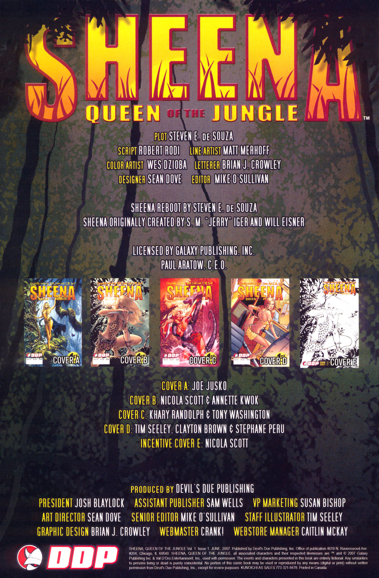 Read online Sheena, Queen of the Jungle comic -  Issue #1 - 2