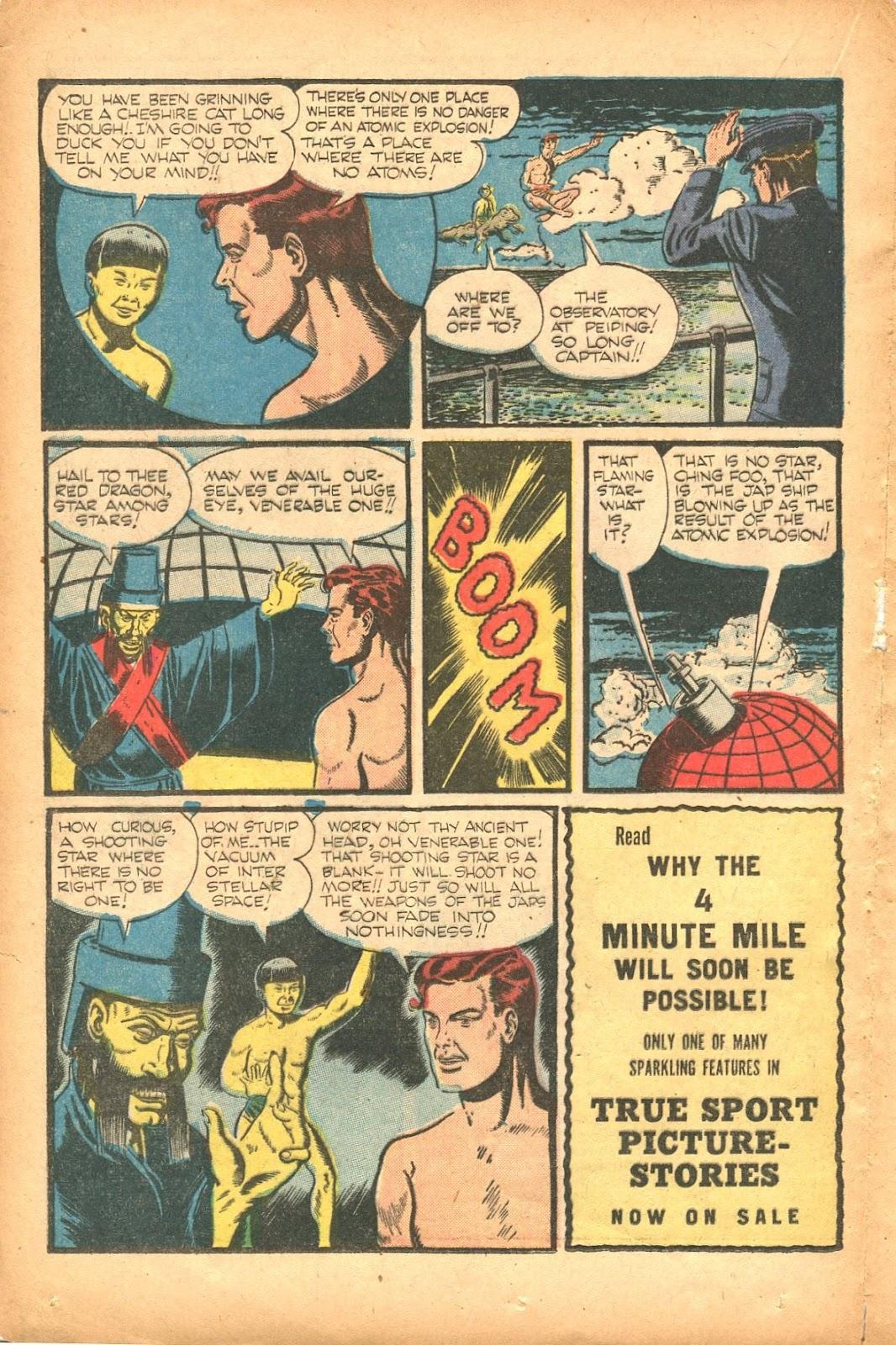 Read online Super-Magician Comics comic -  Issue #35 - 32