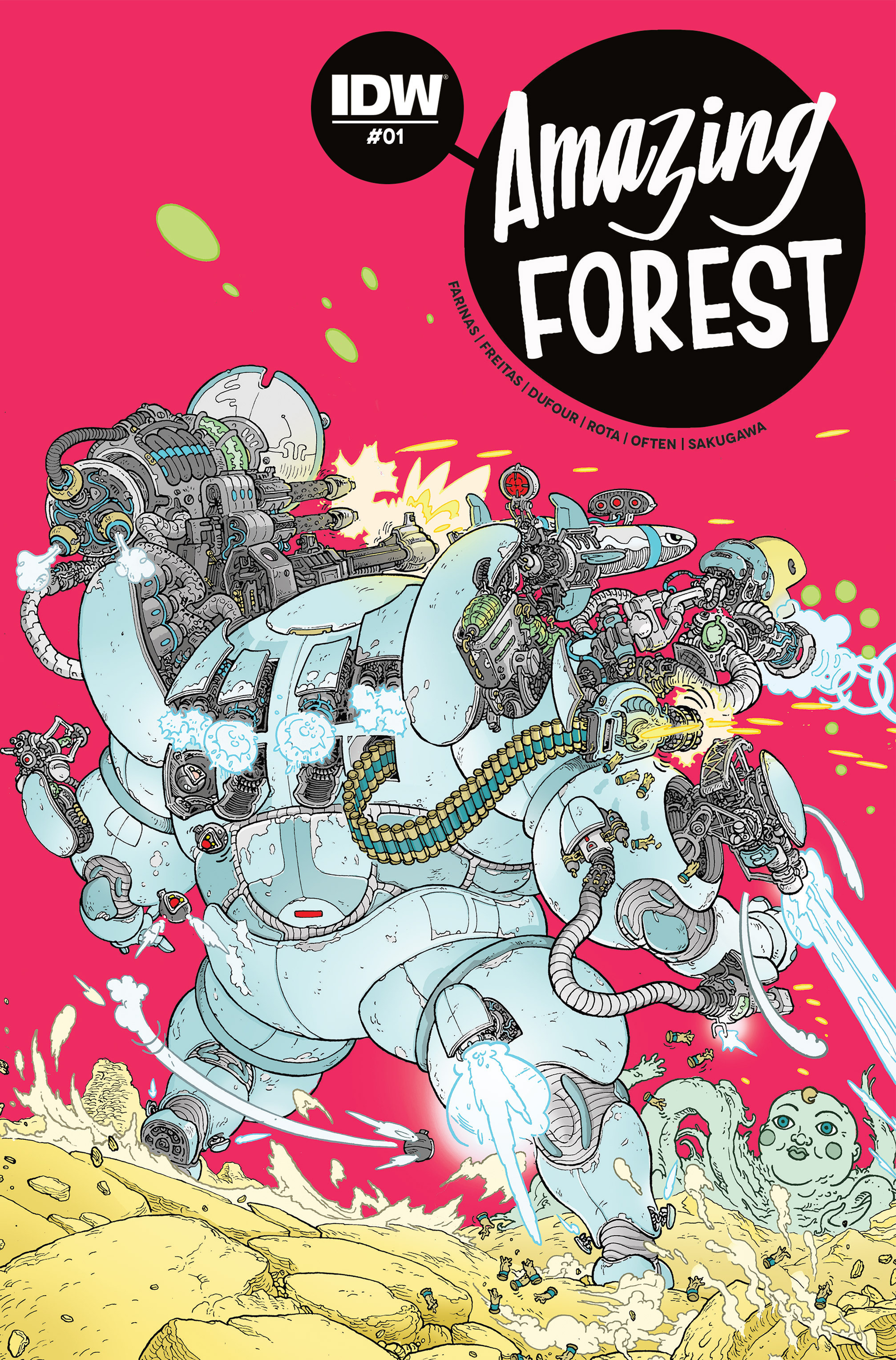 Read online Amazing Forest (2016) comic -  Issue #1 - 1