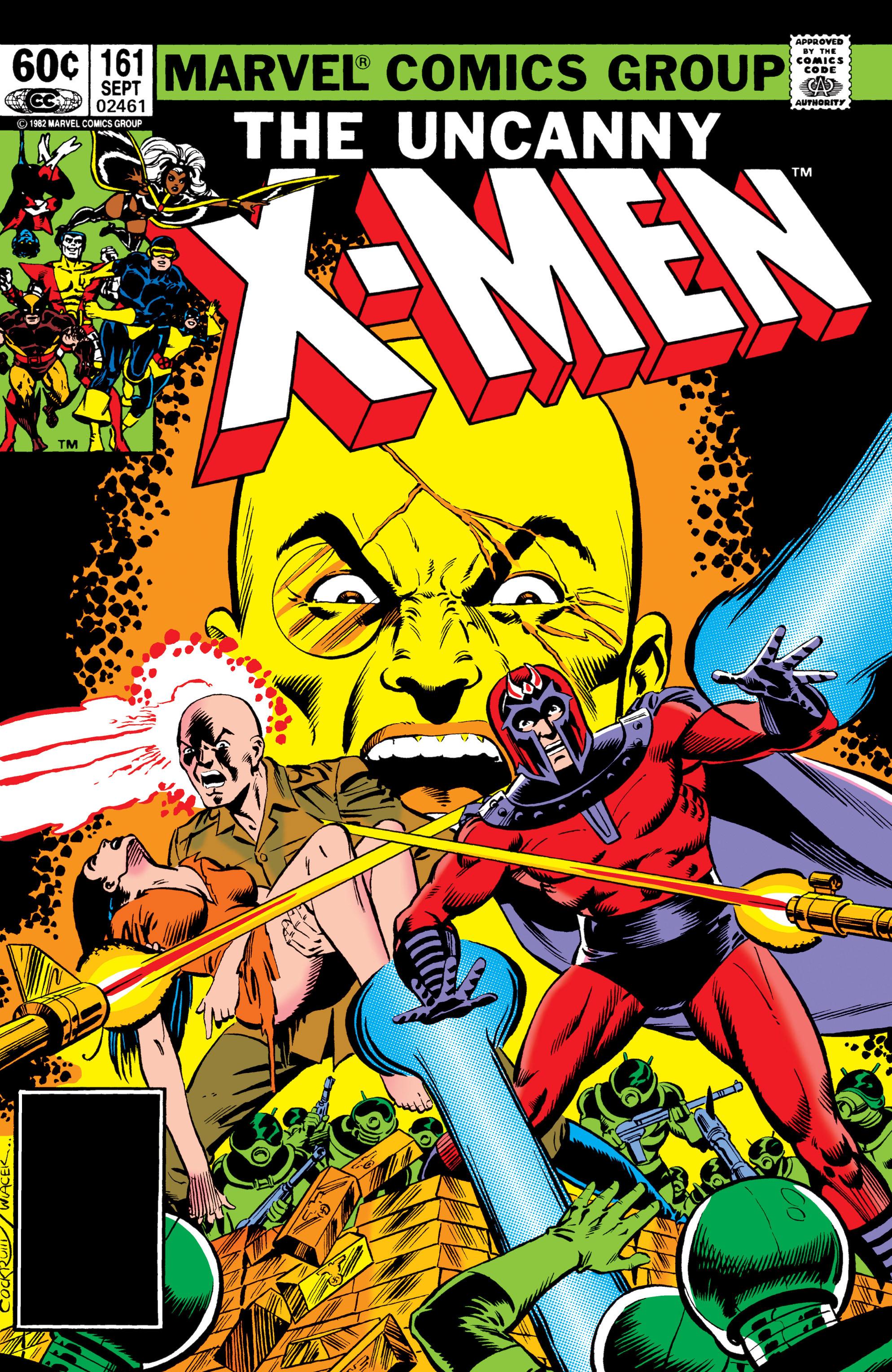 Uncanny X-Men (1963) 161 Page 1