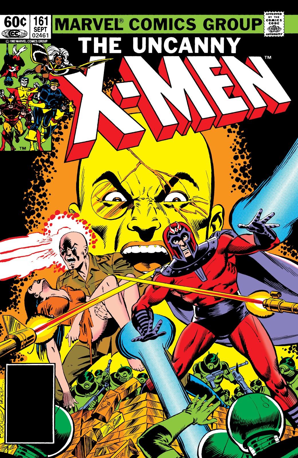 Uncanny X-Men (1963) issue 161 - Page 1