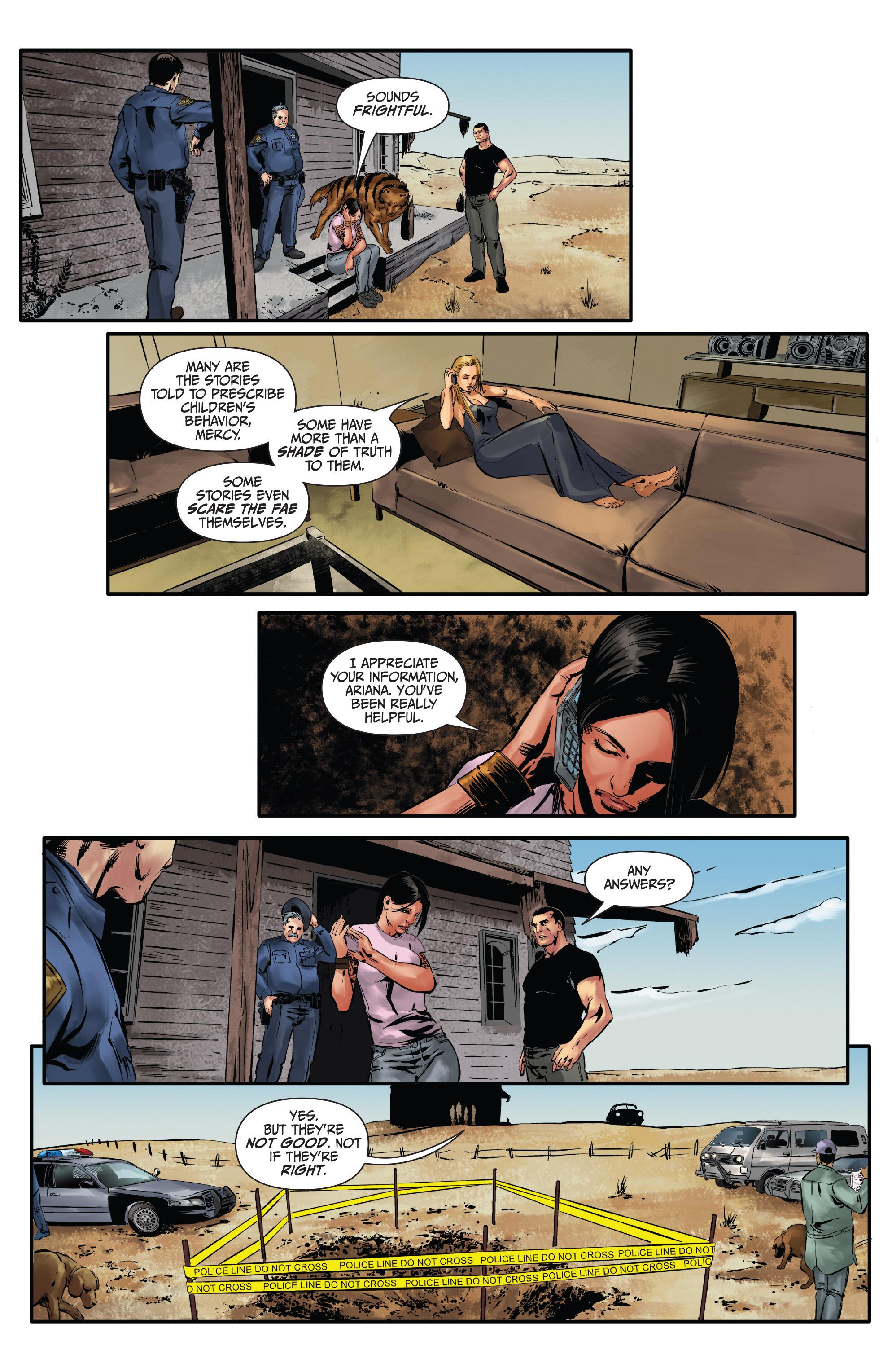 Read online Mercy Thompson comic -  Issue #3 - 20