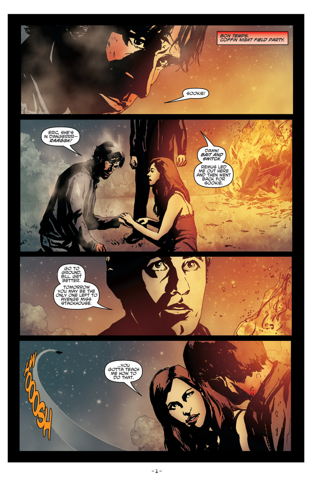Read online True Blood (2012) comic -  Issue #4 - 3