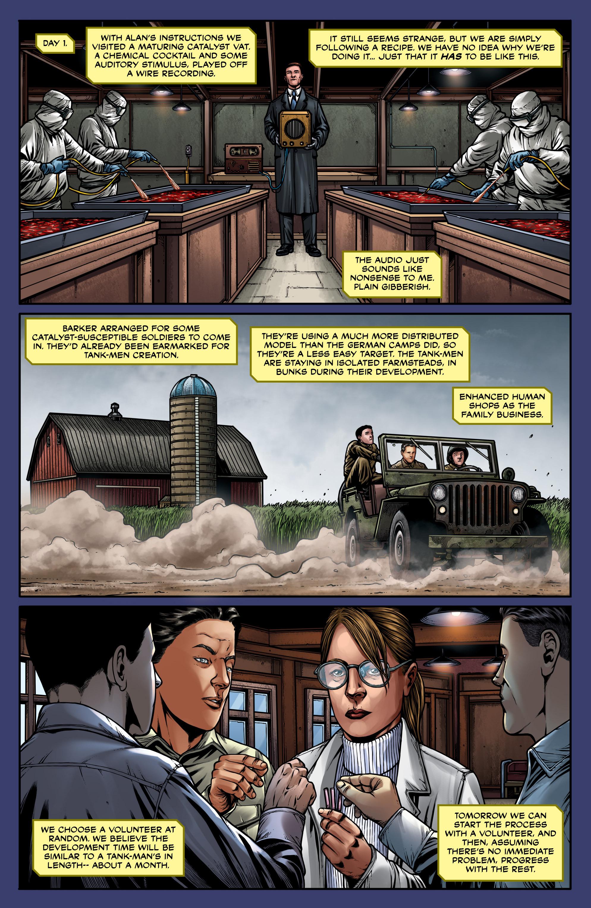Read online Uber: Invasion comic -  Issue #5 - 12