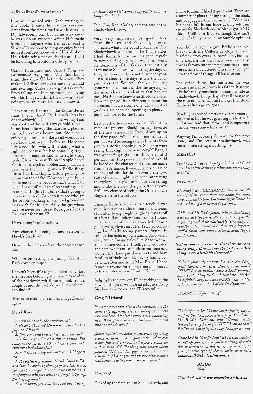Read online ShadowHawk (2005) comic -  Issue #3 - 28