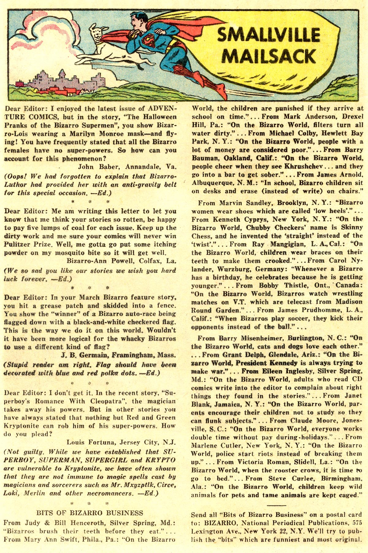 Read online Adventure Comics (1938) comic -  Issue #297 - 20