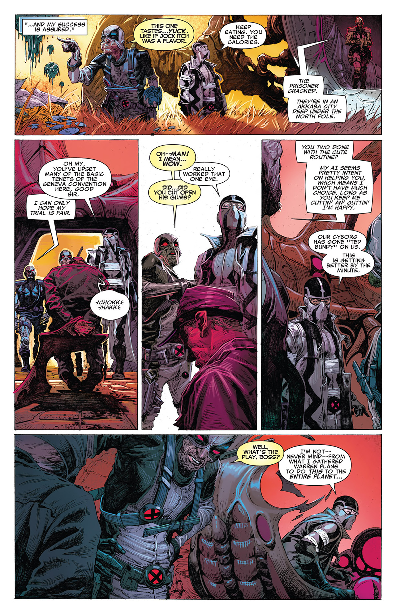 Read online Uncanny X-Force (2010) comic -  Issue #15 - 20