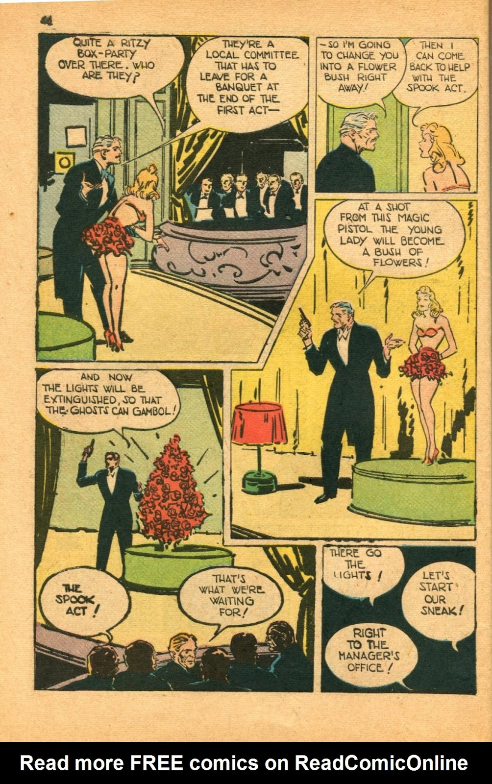 Read online Super-Magician Comics comic -  Issue #46 - 46