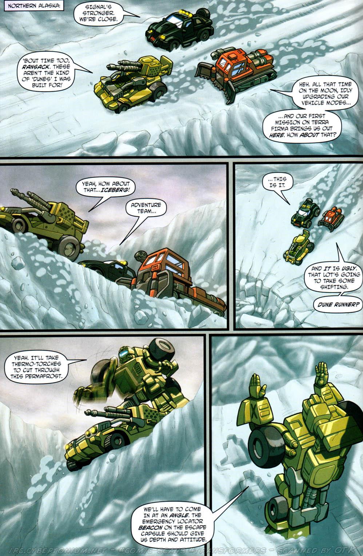 Read online Transformers Armada comic -  Issue #12 - 12