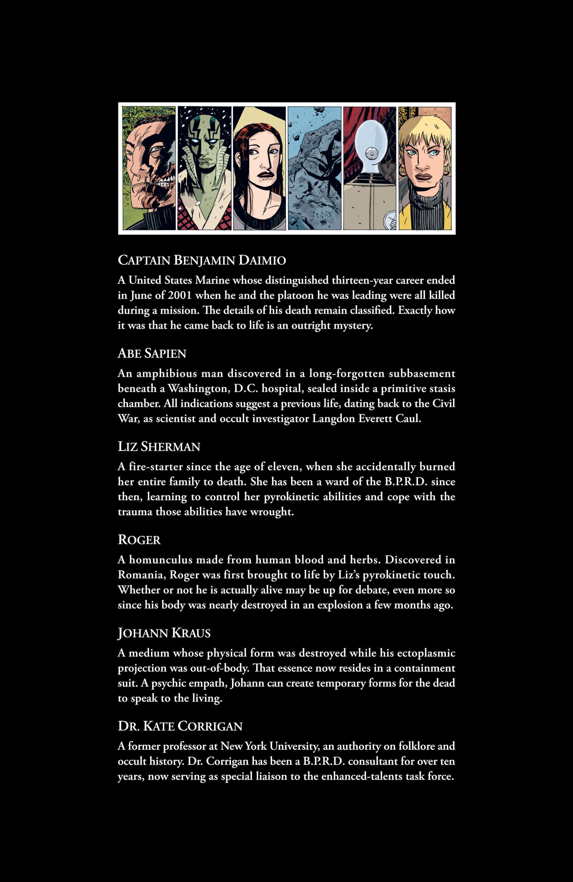 Read online B.P.R.D. (2003) comic -  Issue # TPB 6 - 4