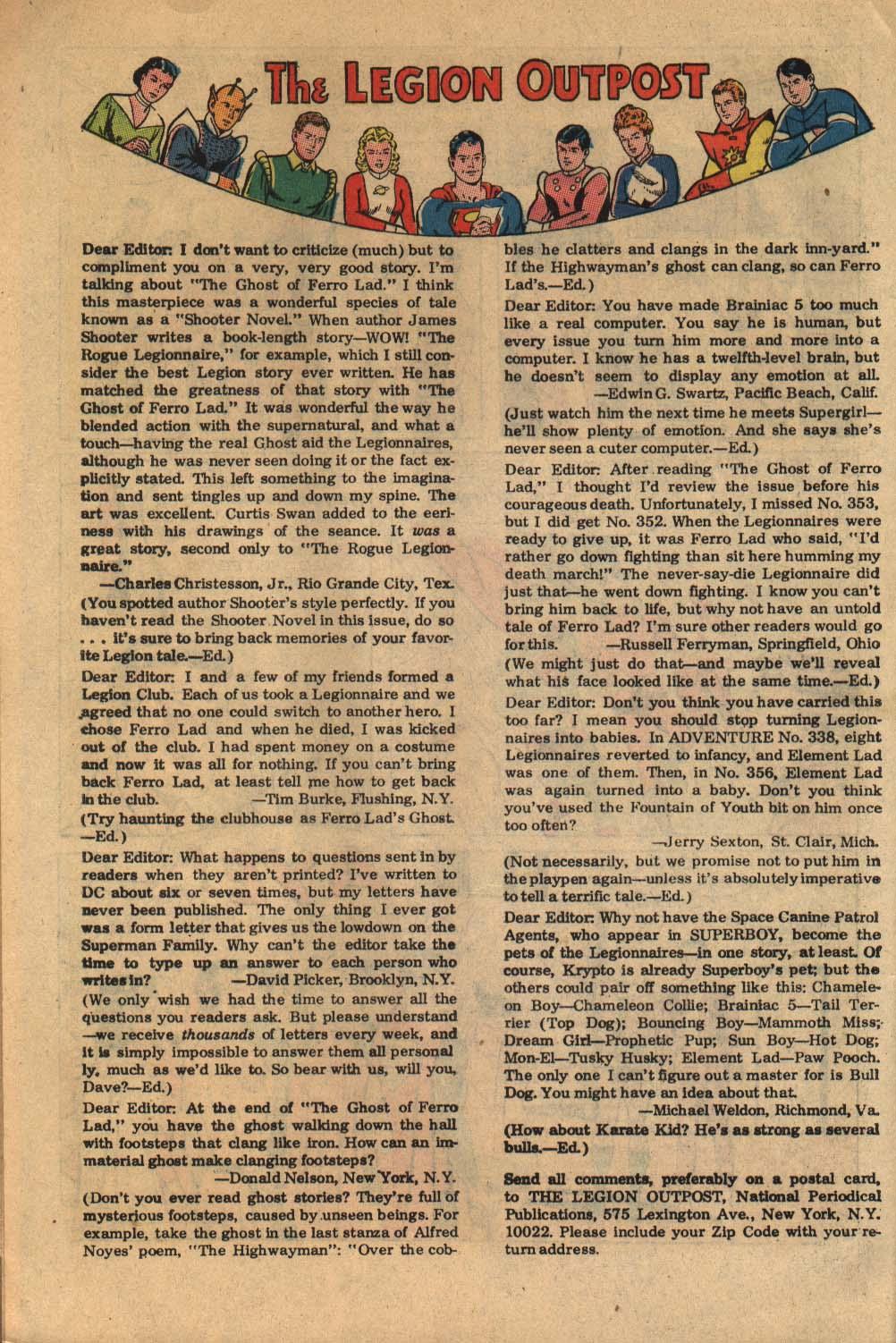 Read online Adventure Comics (1938) comic -  Issue #360 - 32