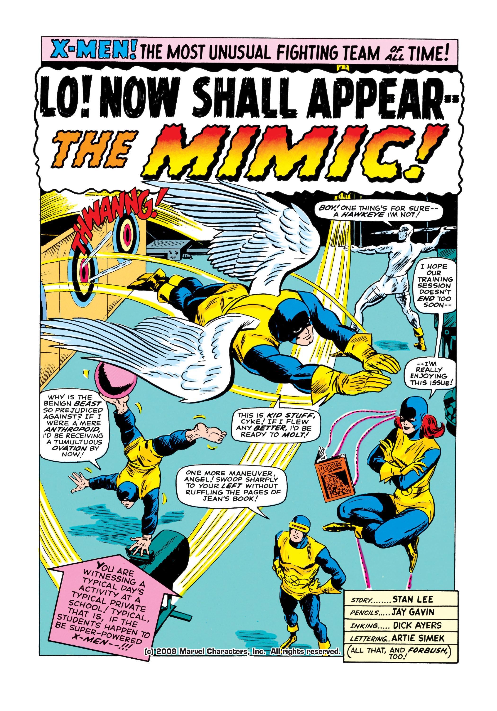 Read online Uncanny X-Men (1963) comic -  Issue #19 - 2