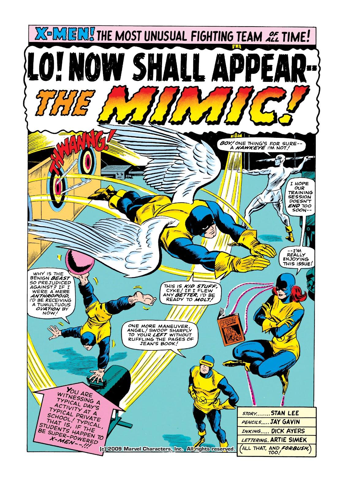 Uncanny X-Men (1963) issue 19 - Page 2