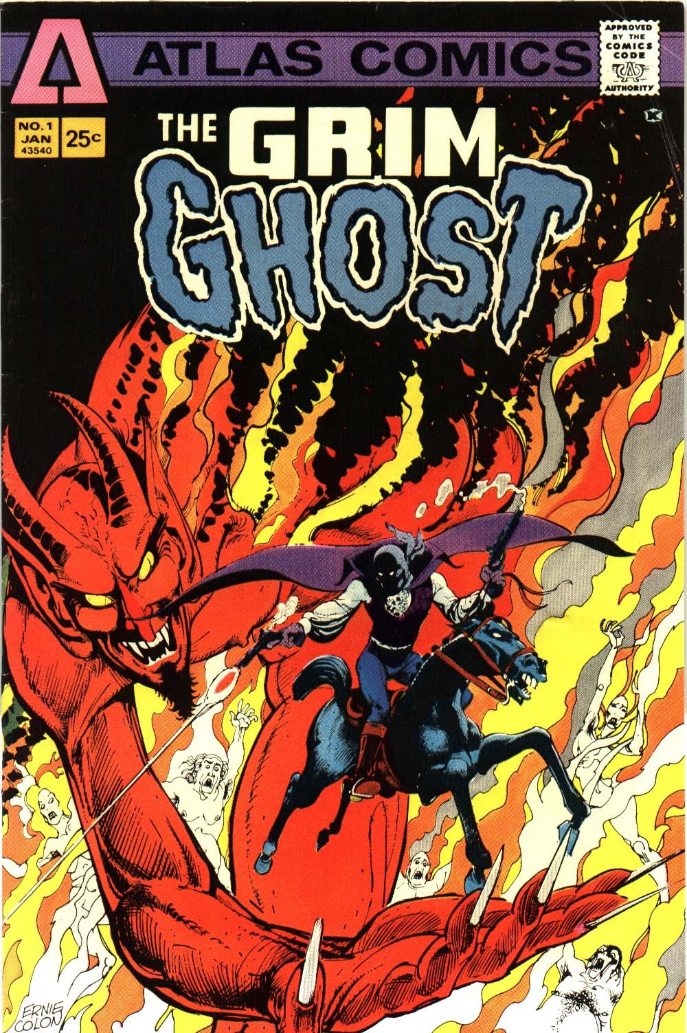 The Grim Ghost (1975) issue 1 - Page 1