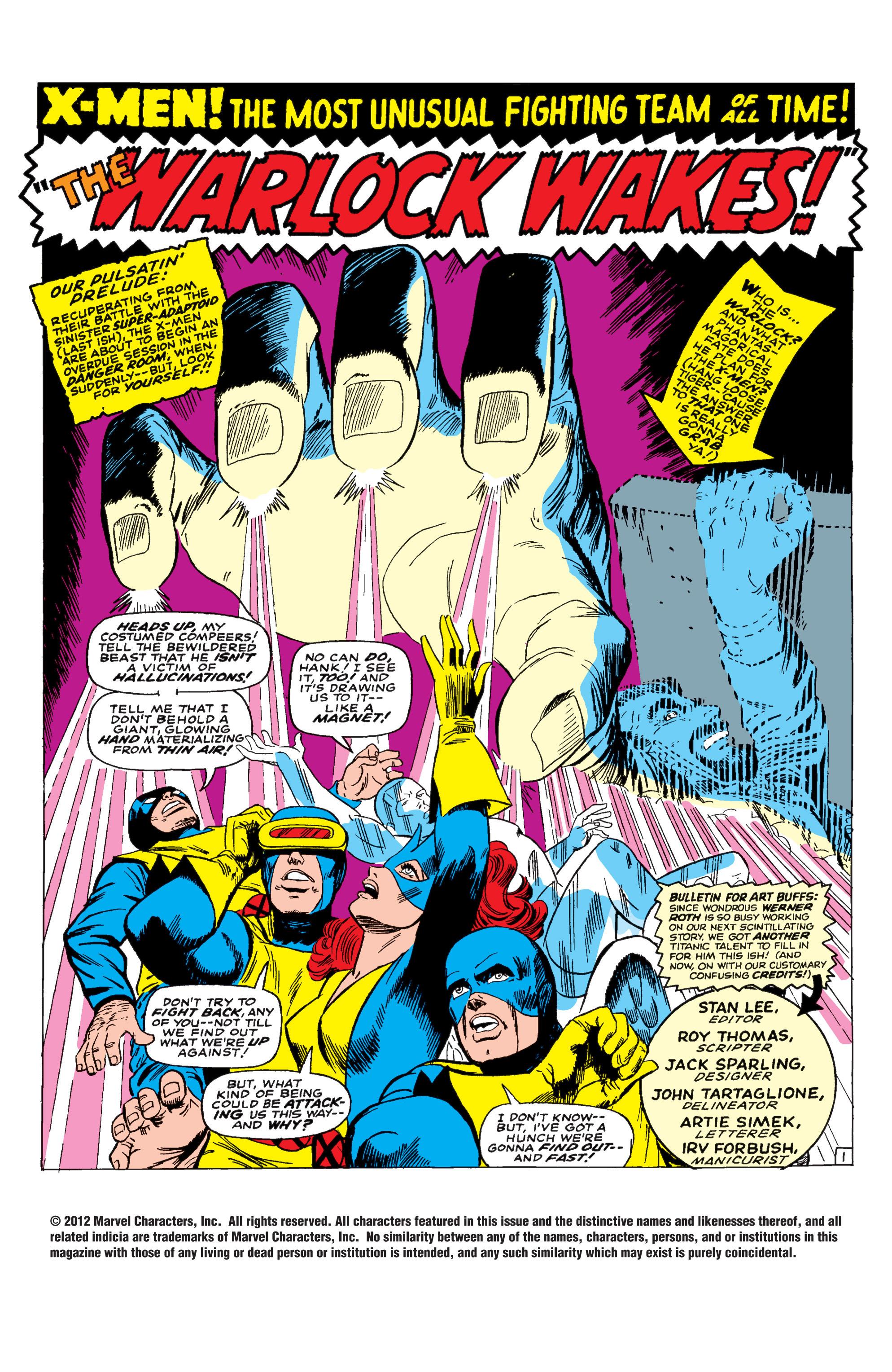 Uncanny X-Men (1963) 30 Page 1