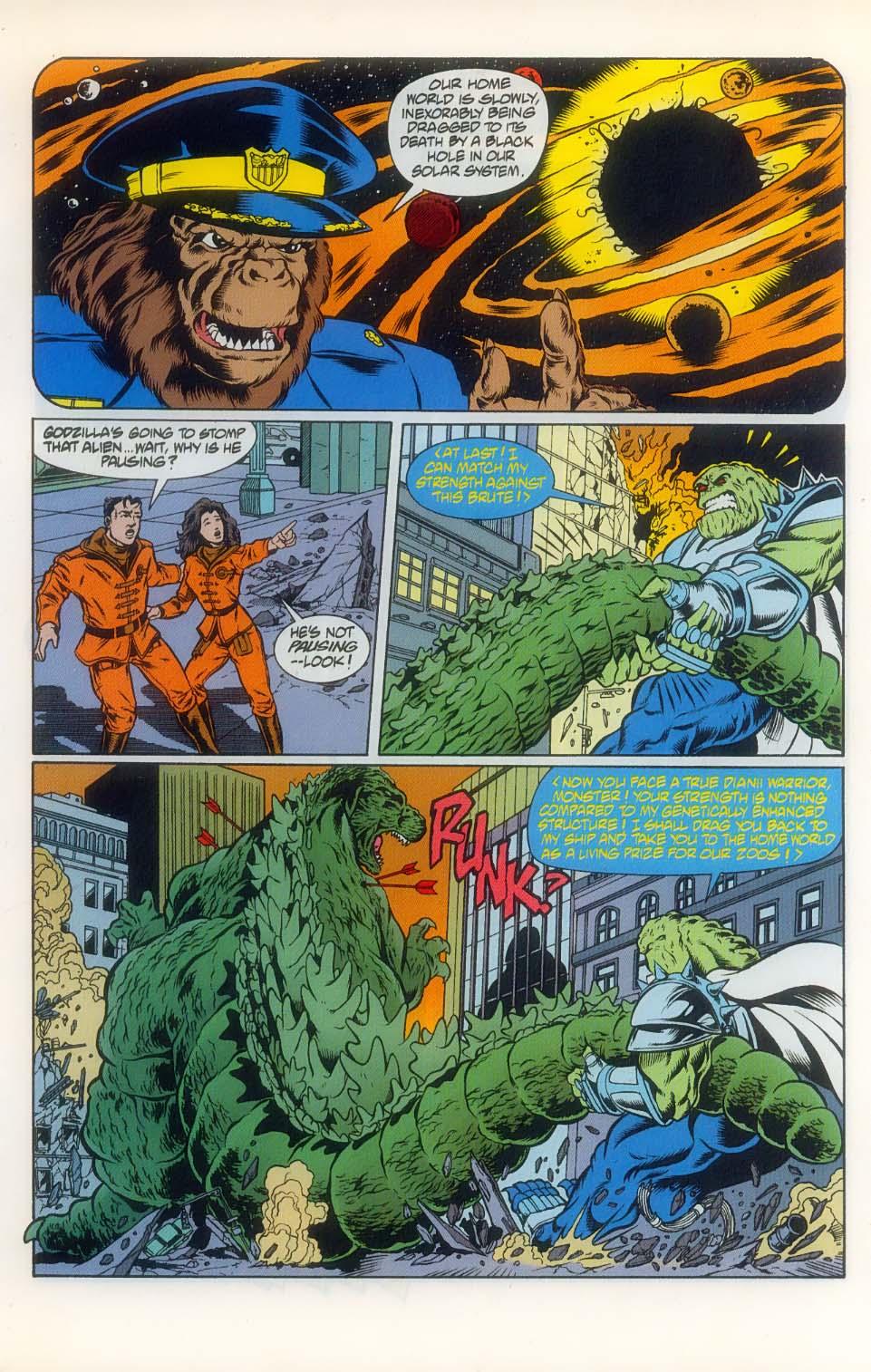 Godzilla (1995) Issue #8 #9 - English 5