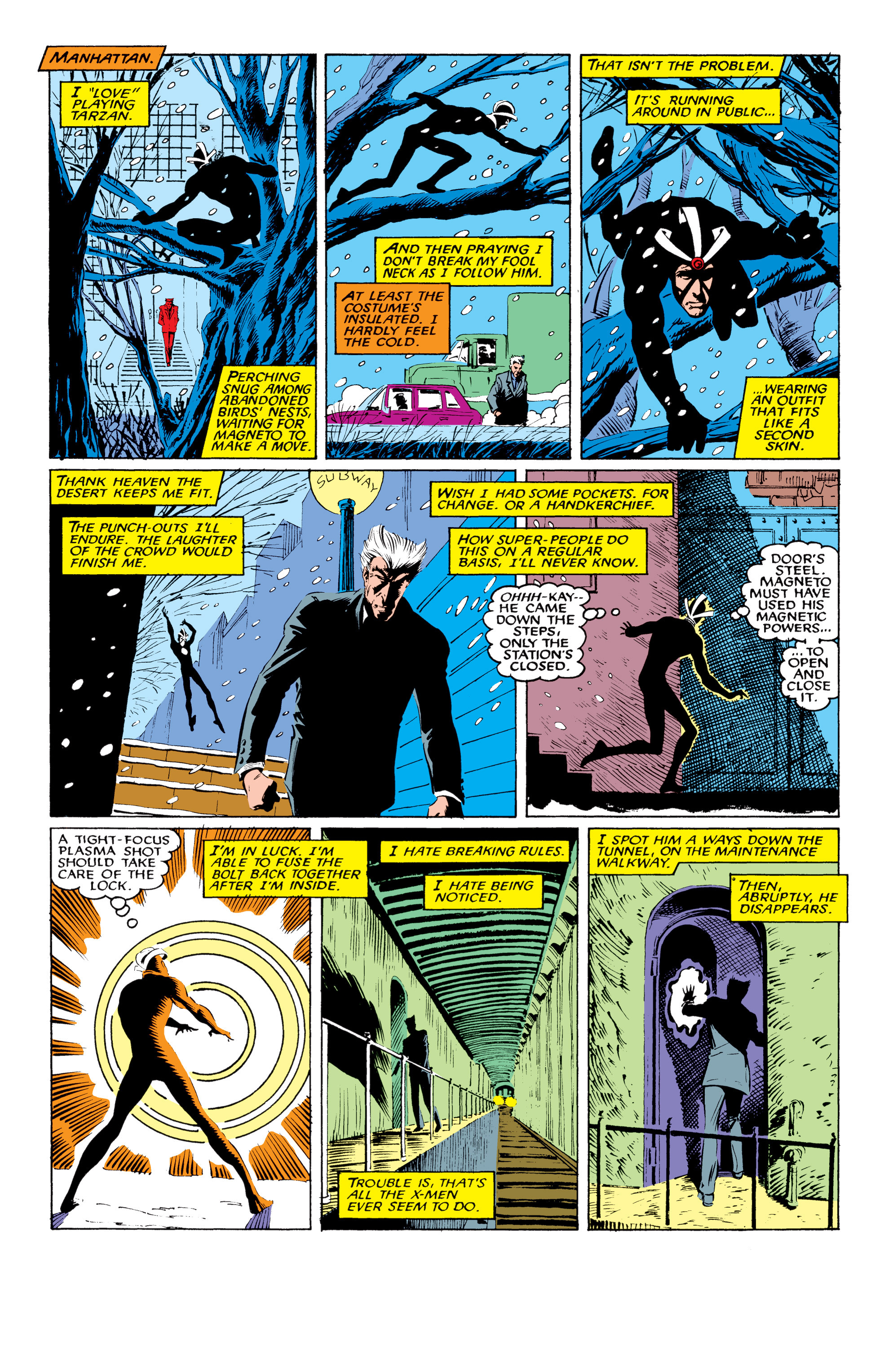 Read online Uncanny X-Men (1963) comic -  Issue #219 - 16