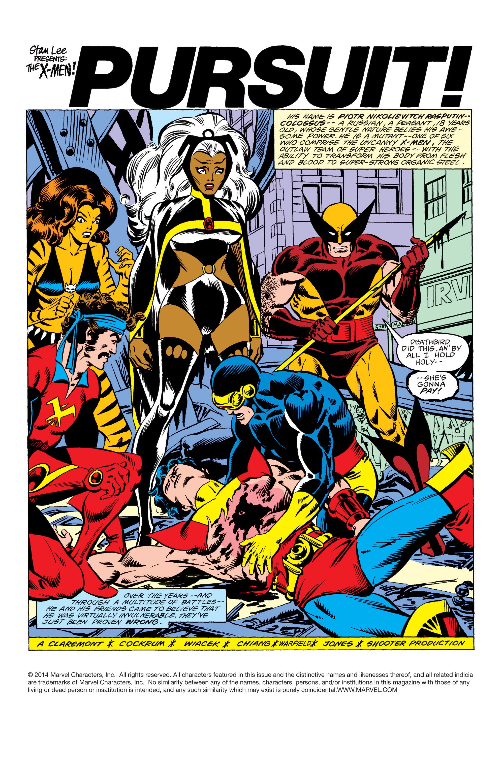 Read online Uncanny X-Men (1963) comic -  Issue #156 - 2