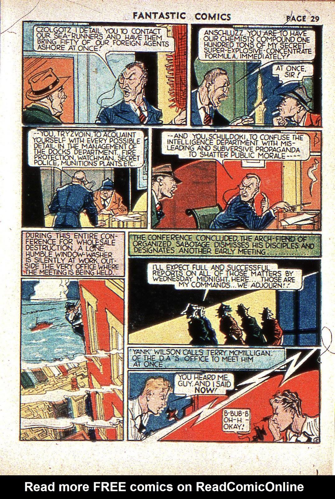 Read online Fantastic Comics comic -  Issue #2 - 31
