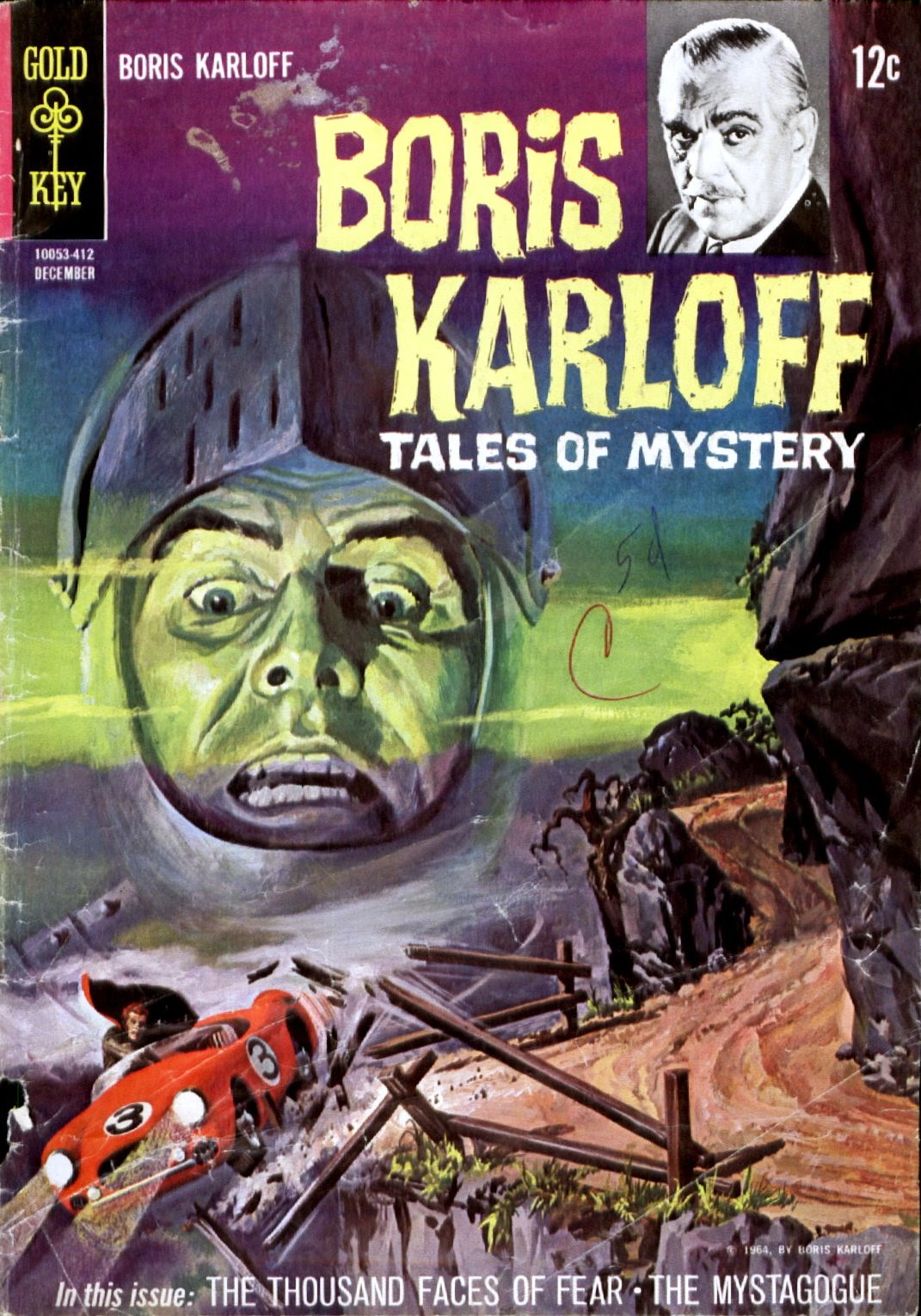 Boris Karloff Tales of Mystery issue 8 - Page 1
