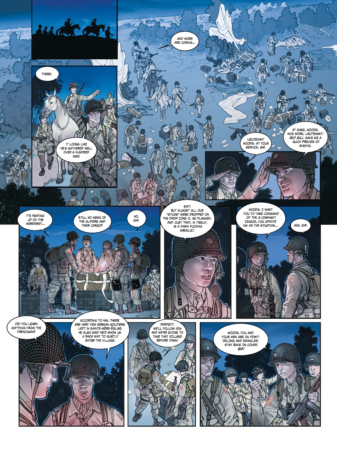 Read online Opération Overlord comic -  Issue #1 - 25