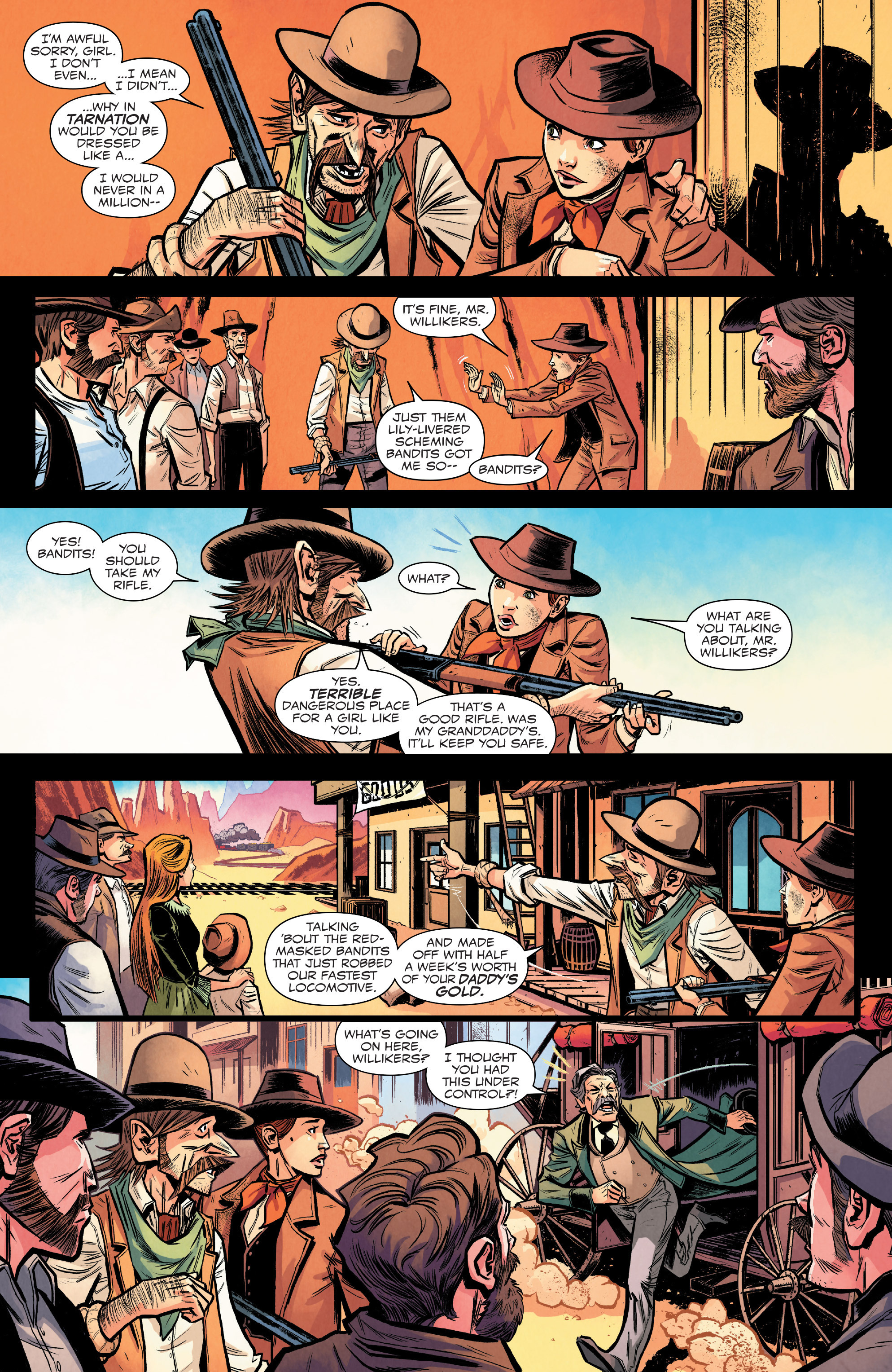 Read online Big Thunder Mountain Railroad comic -  Issue #2 - 12