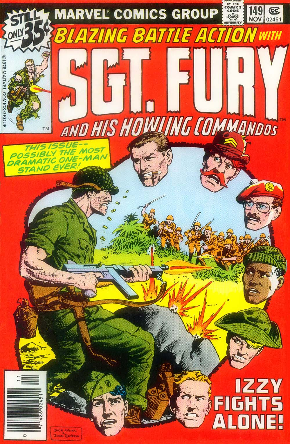 Read online Sgt. Fury comic -  Issue #149 - 1