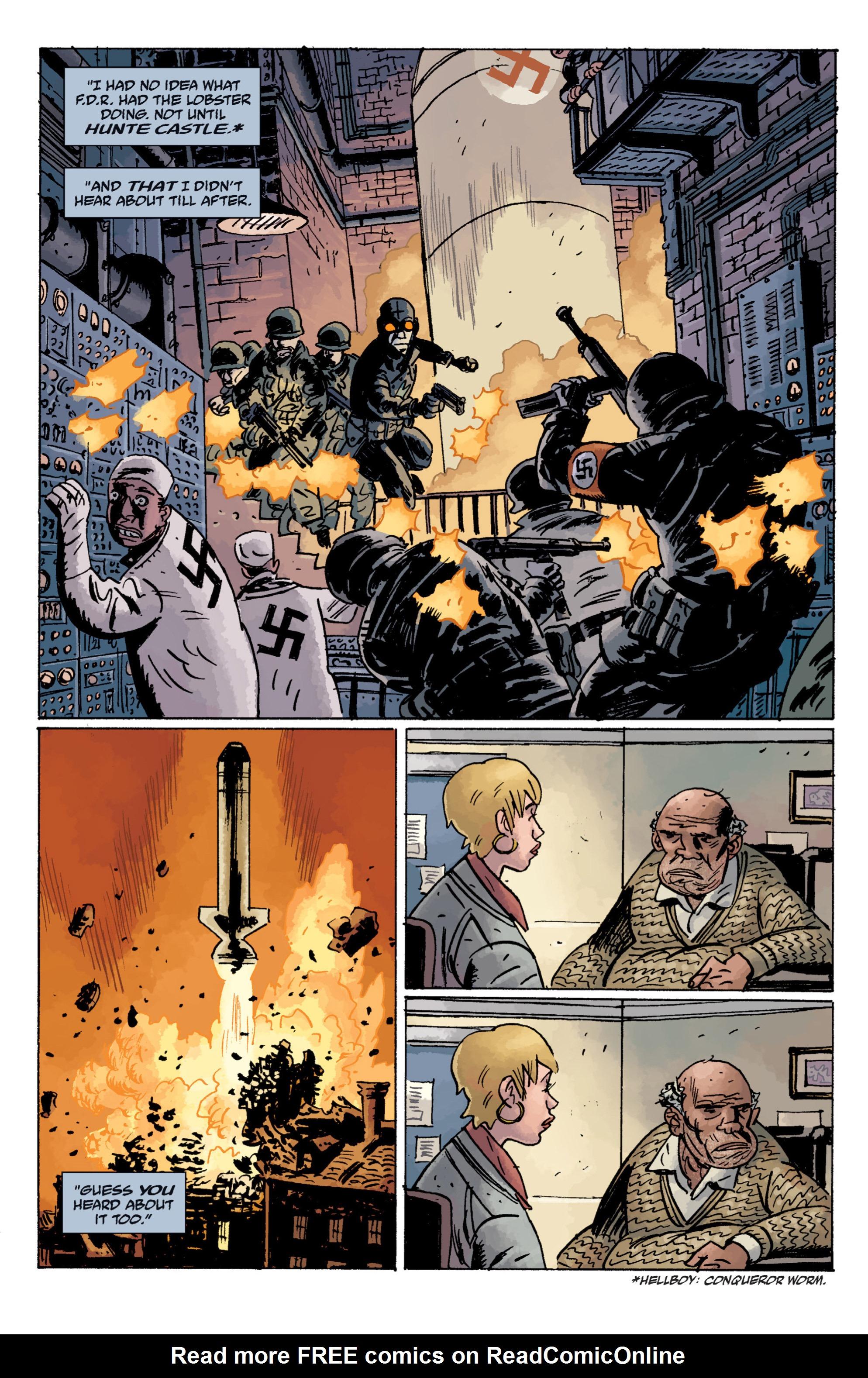 Read online B.P.R.D. (2003) comic -  Issue # TPB 11 - 26
