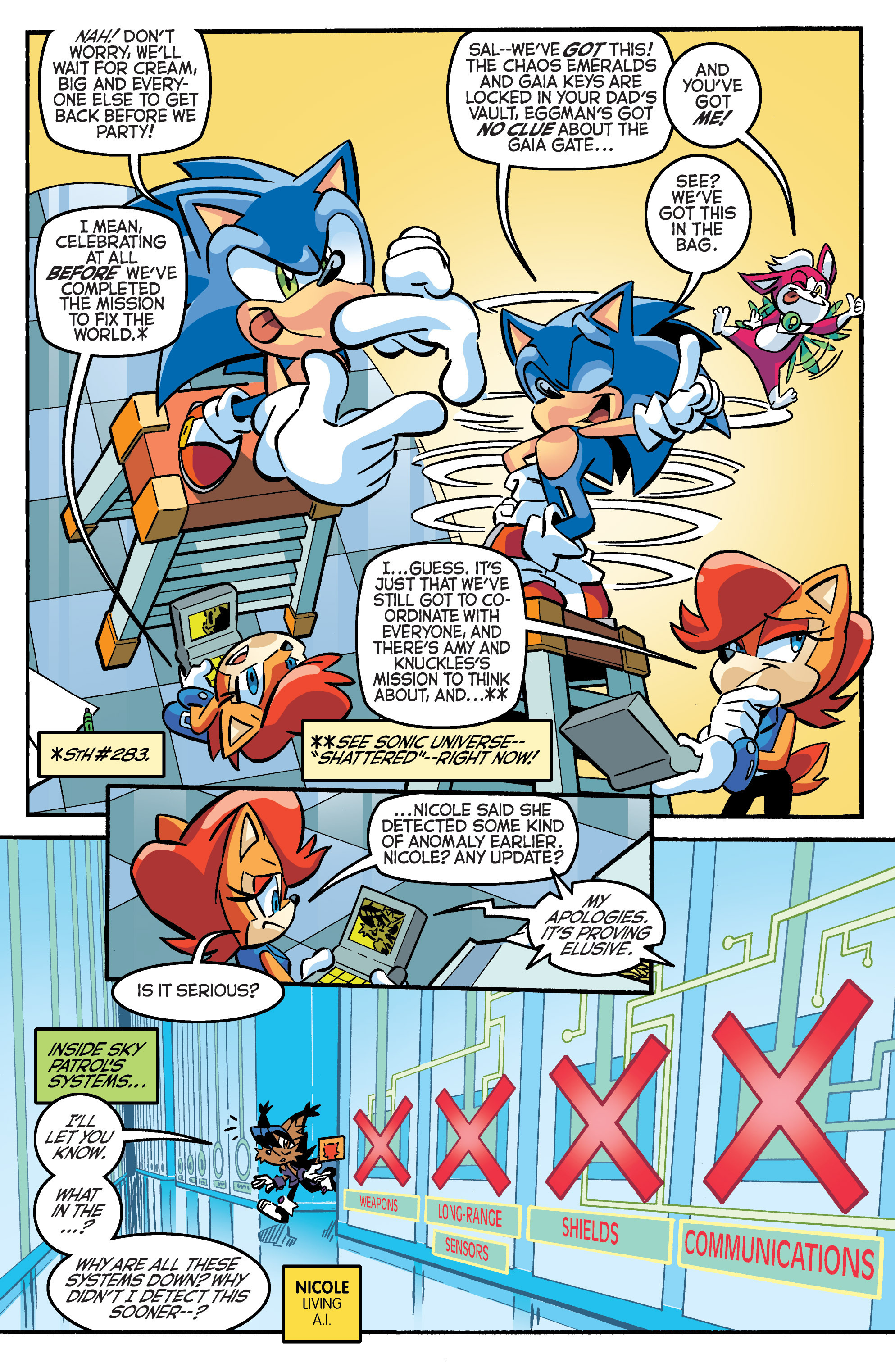 Read online Sonic The Hedgehog comic -  Issue #284 - 4