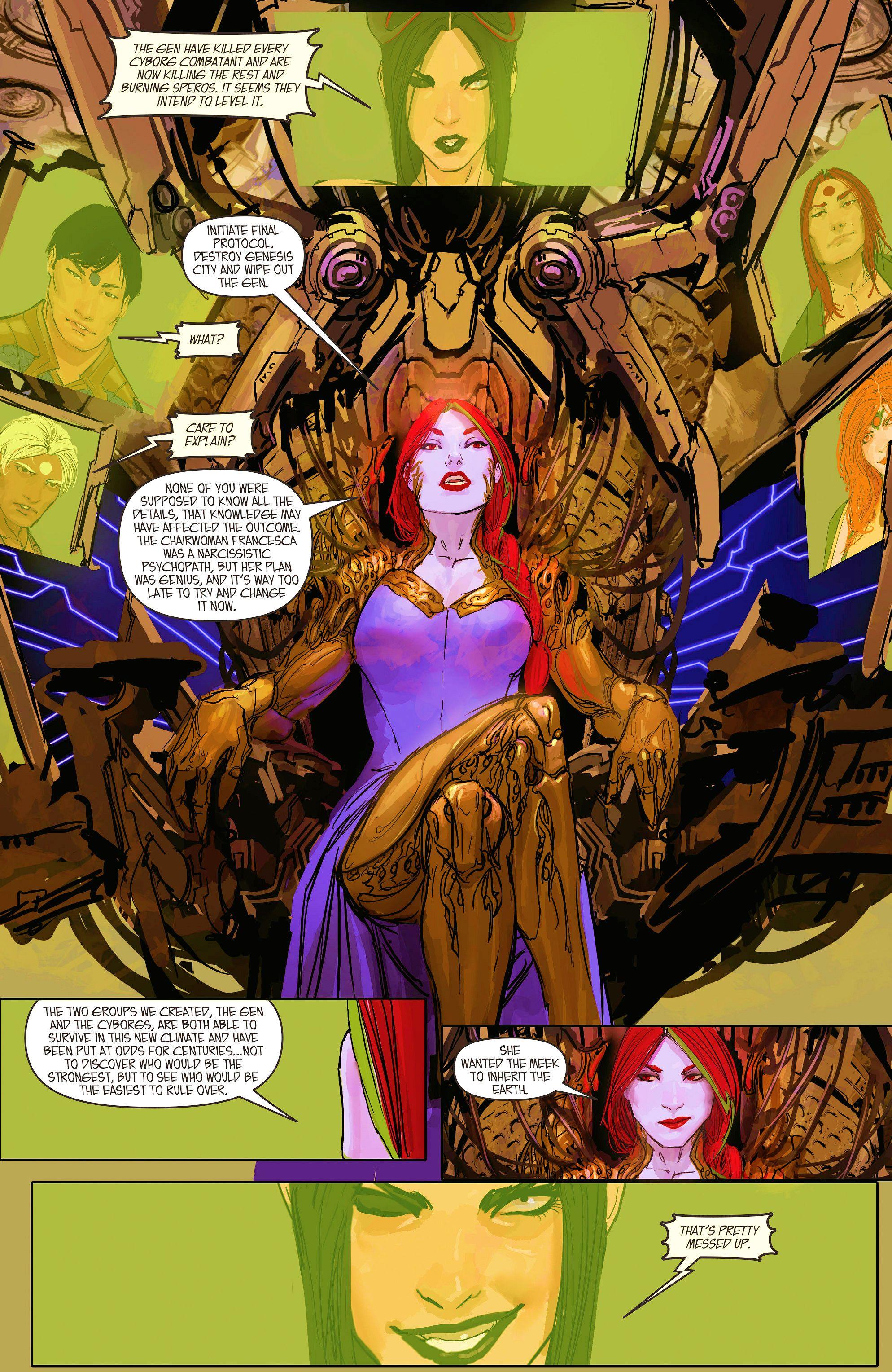 Read online Aphrodite IX (2013) comic -  Issue #11 - 18