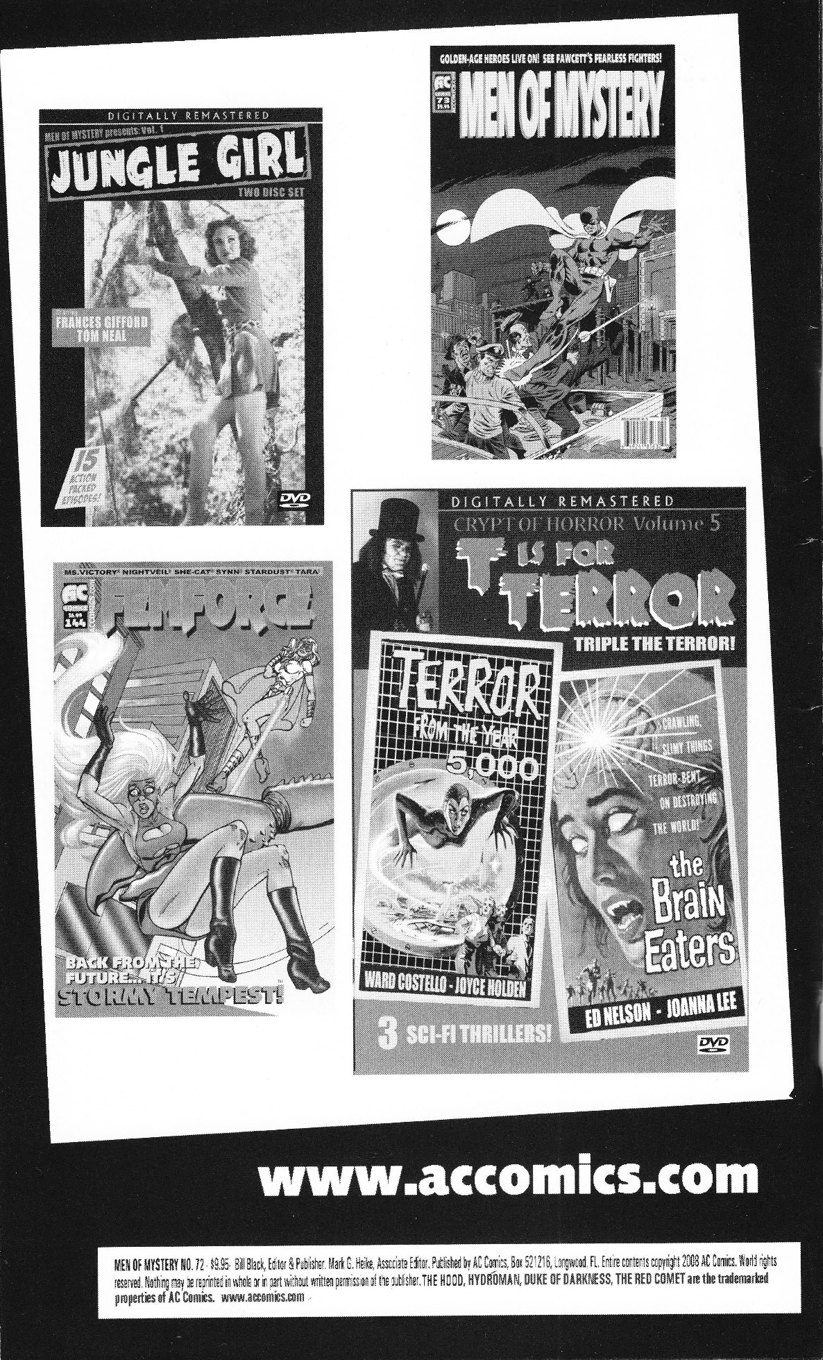 Read online Men of Mystery Comics comic -  Issue #72 - 2