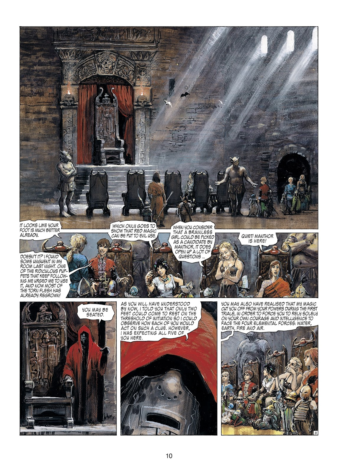 Read online Thorgal comic -  Issue #23 - 12