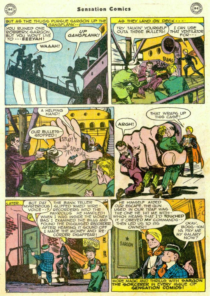 Read online Sensation (Mystery) Comics comic -  Issue #75 - 27