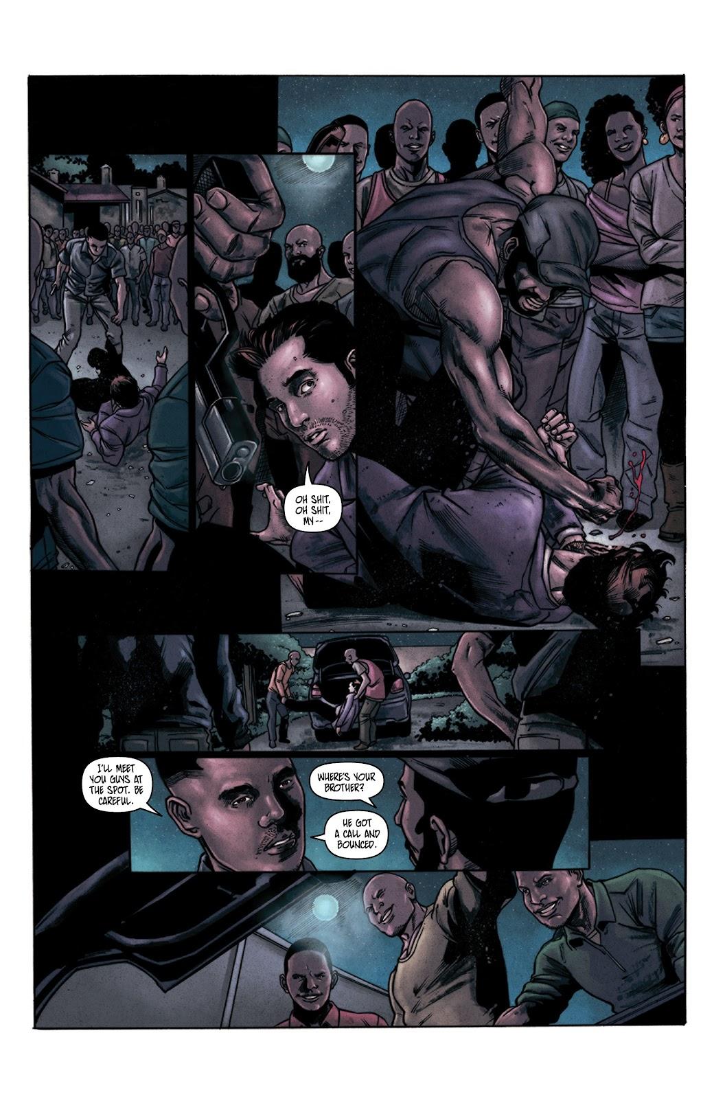 Read online Vindication comic -  Issue #3 - 5