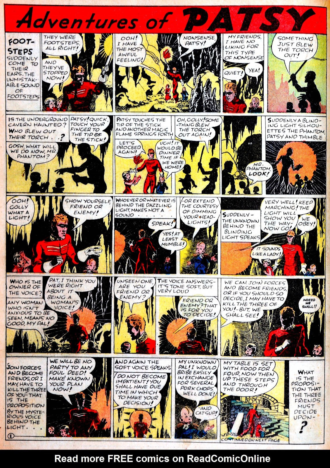 Read online Famous Funnies comic -  Issue #38 - 32