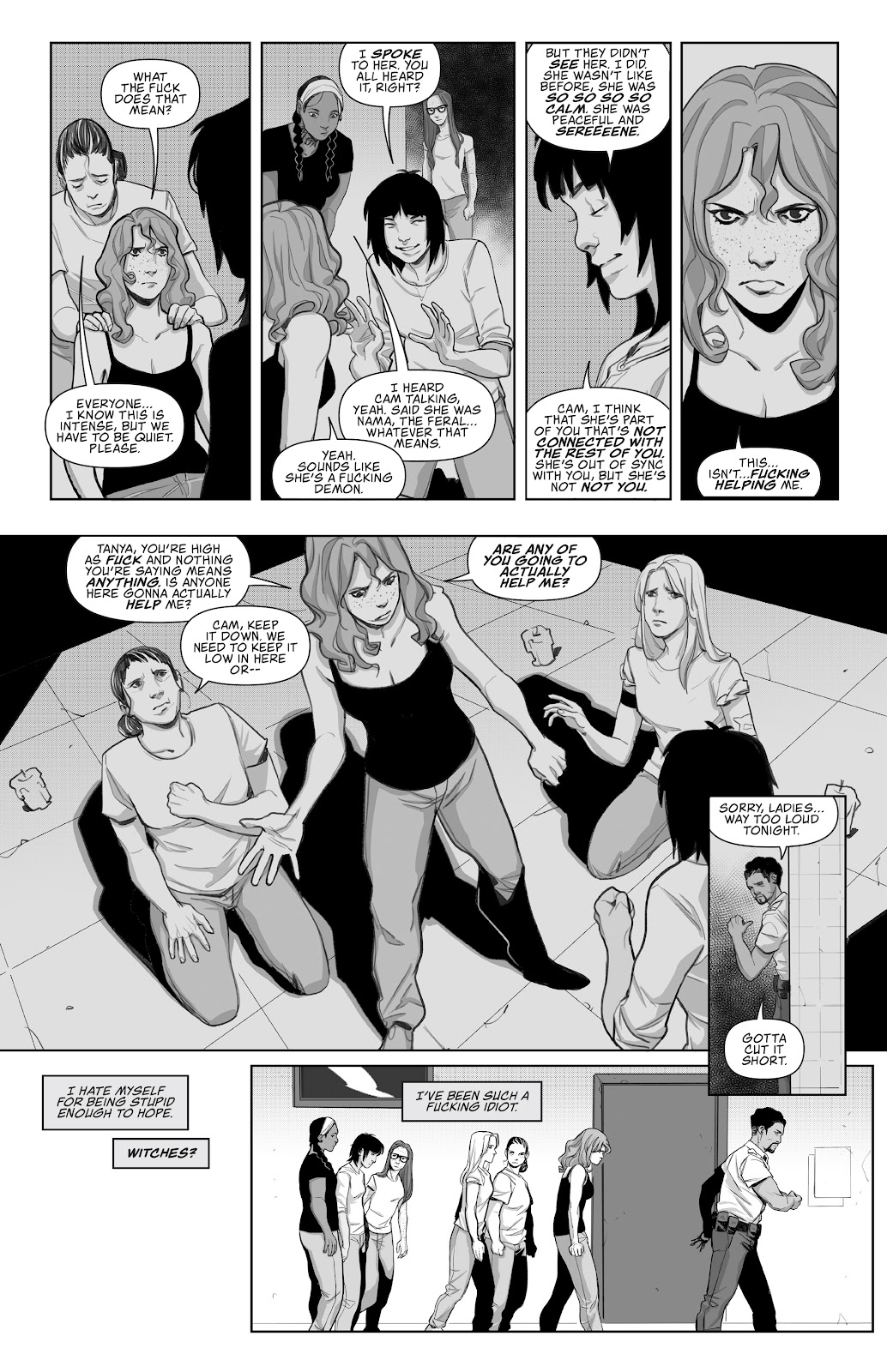 Read online Prison Witch comic -  Issue #2 - 20