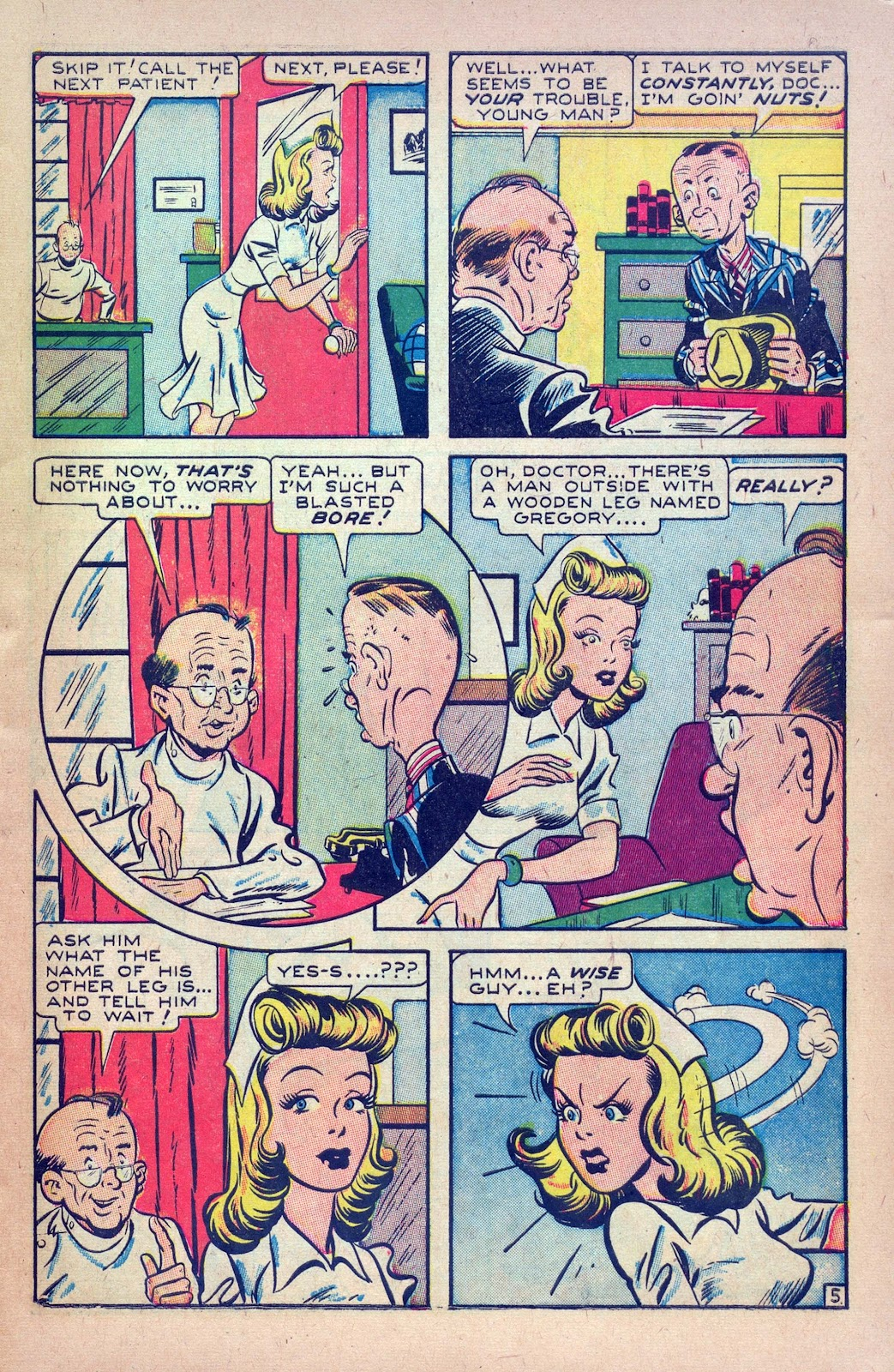 Read online Joker Comics comic -  Issue #18 - 7