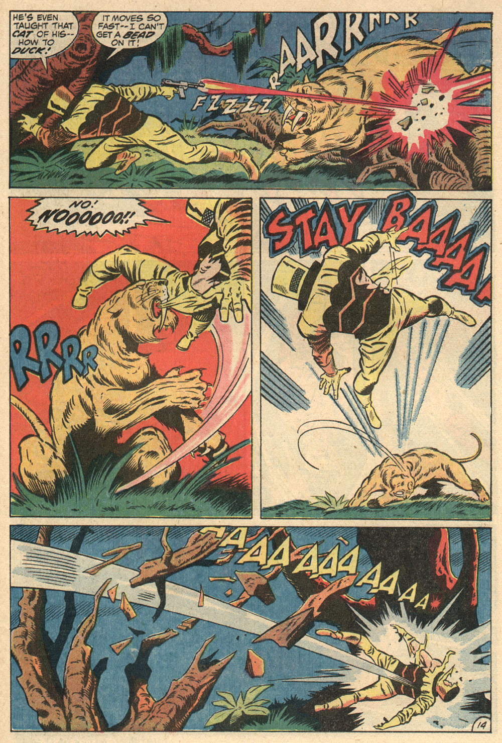 Read online Astonishing Tales (1970) comic -  Issue #13 - 15