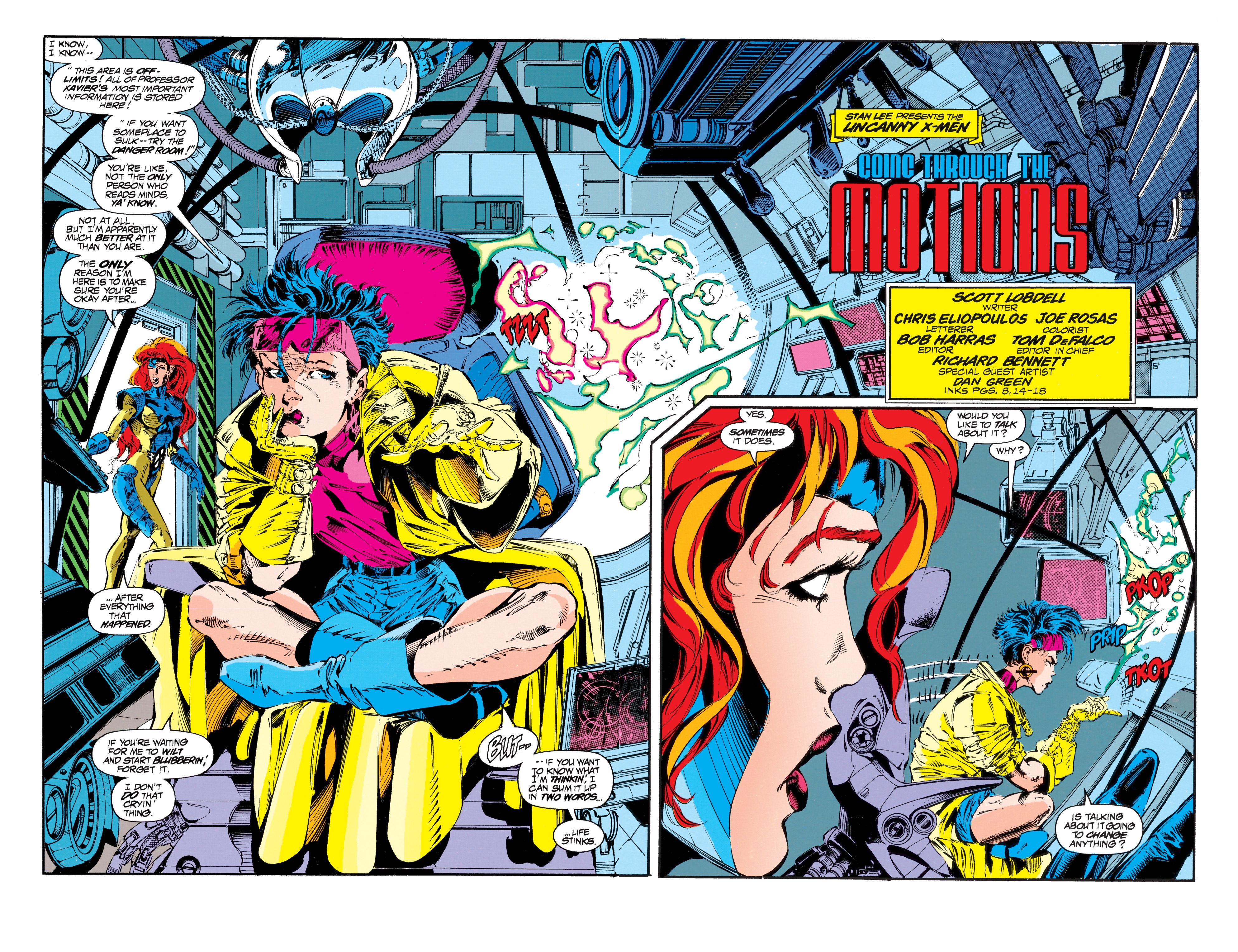 Read online Uncanny X-Men (1963) comic -  Issue #303 - 3