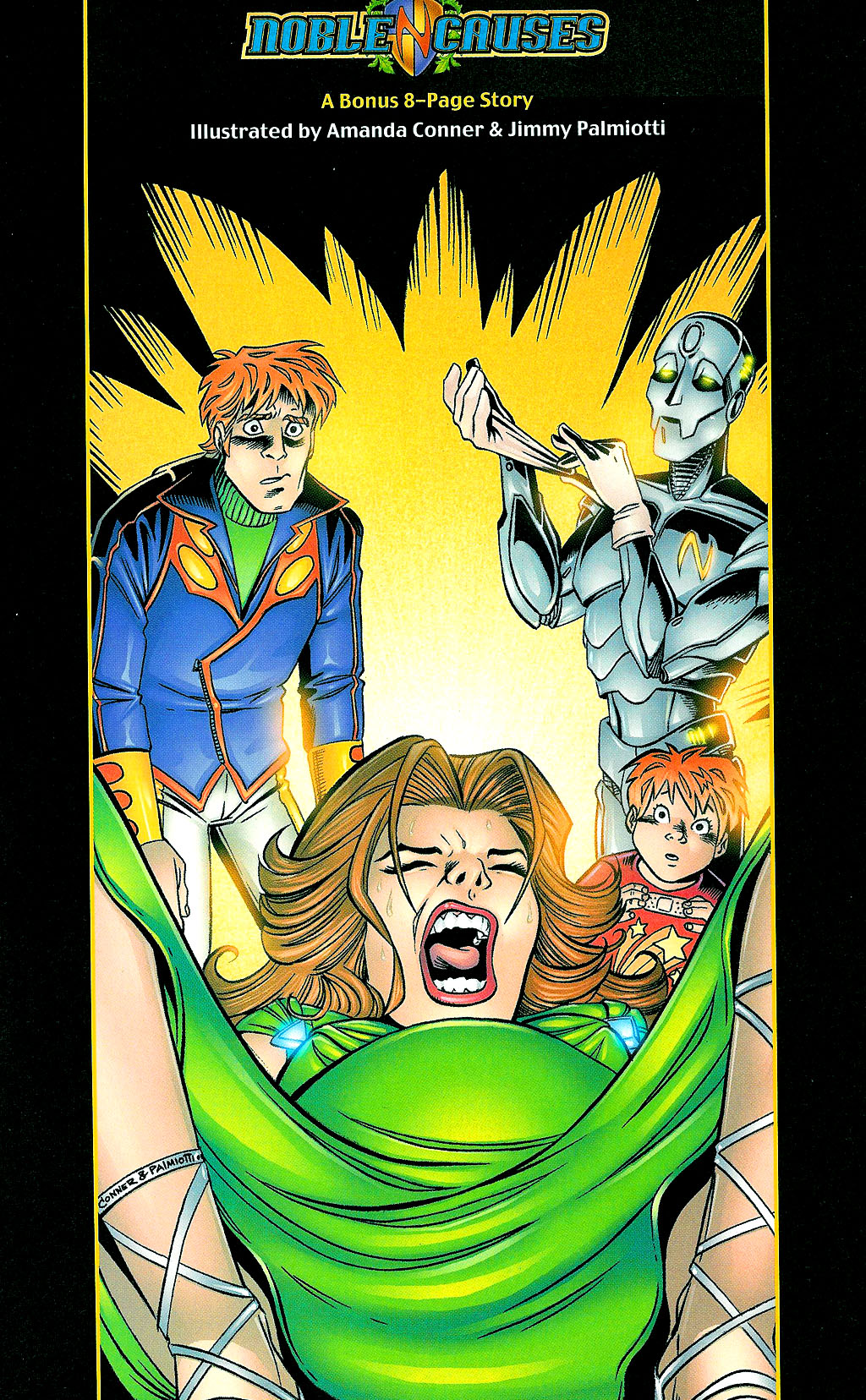 Read online Noble Causes (2002) comic -  Issue #1 - 19