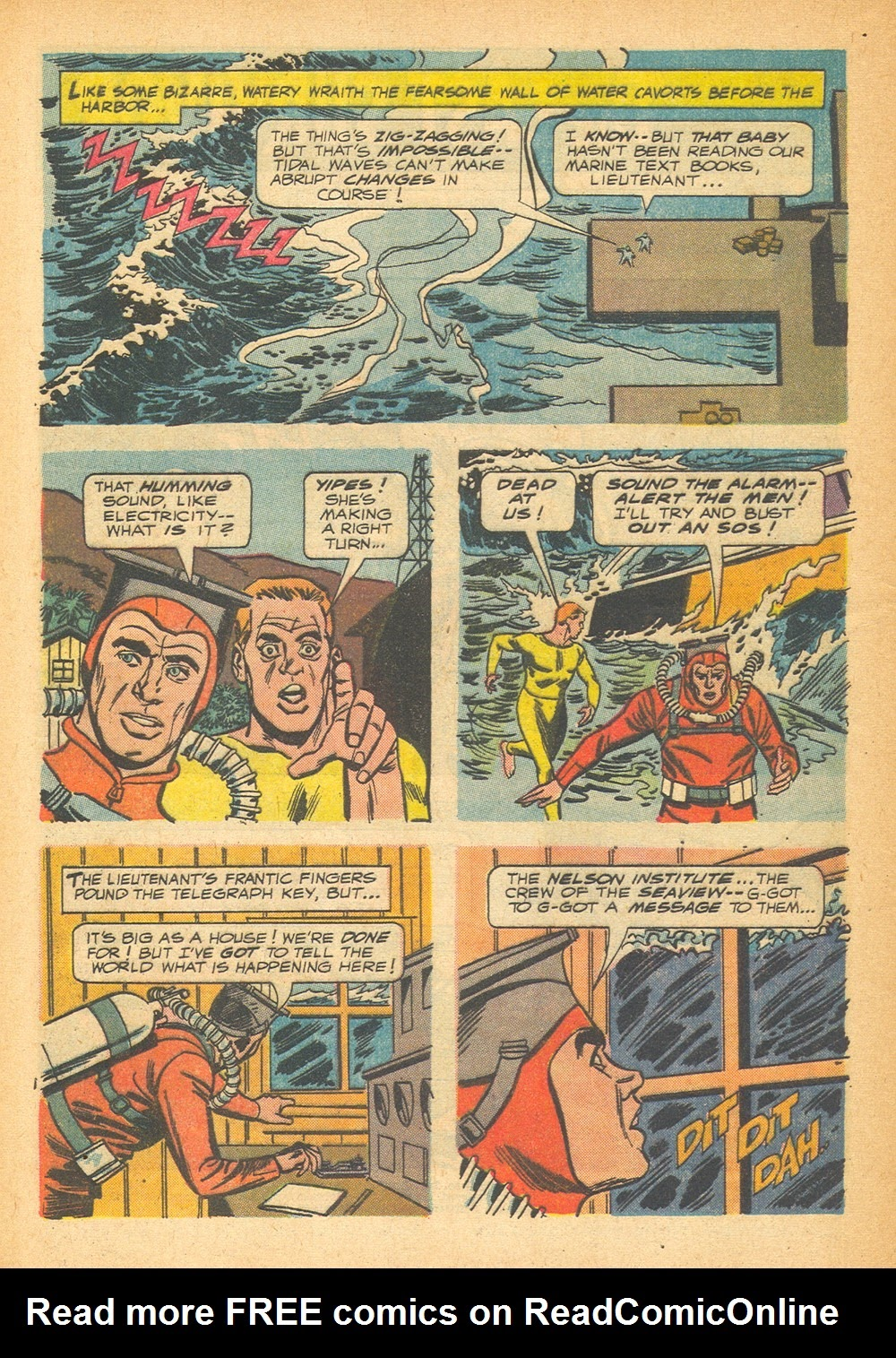 Voyage to the Bottom of the Sea issue 1 - Page 4
