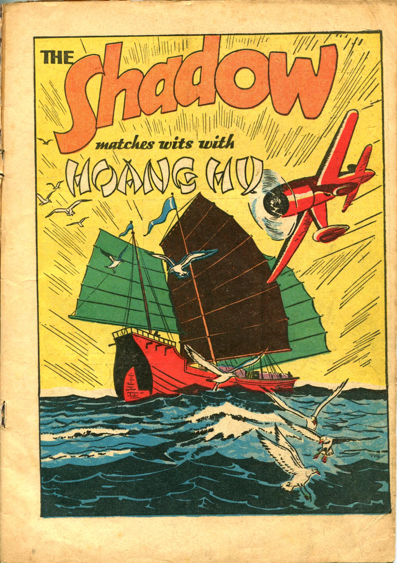 Read online Shadow Comics comic -  Issue #10 - 3