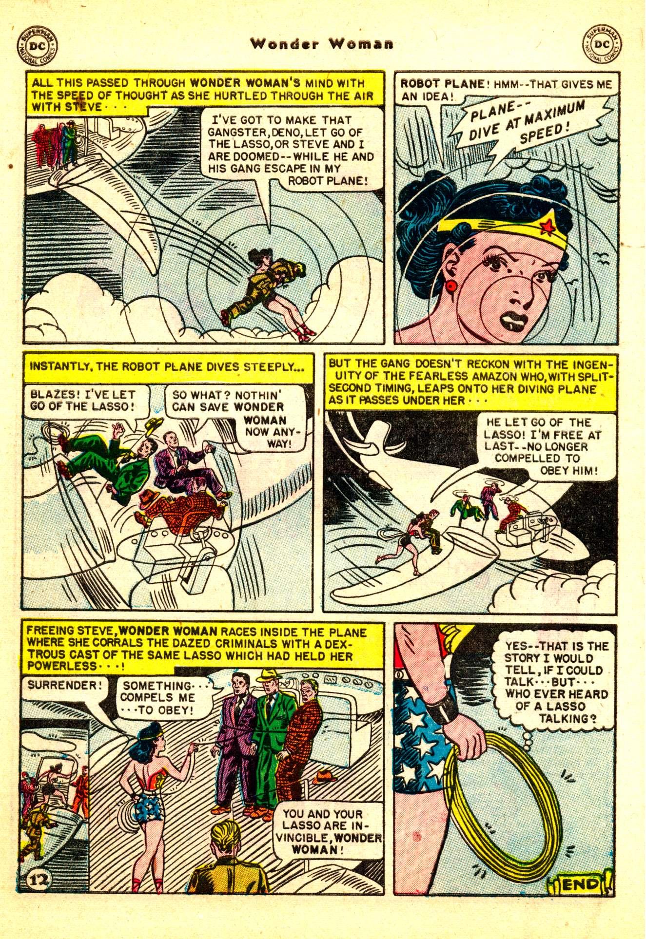 Read online Wonder Woman (1942) comic -  Issue #50 - 42