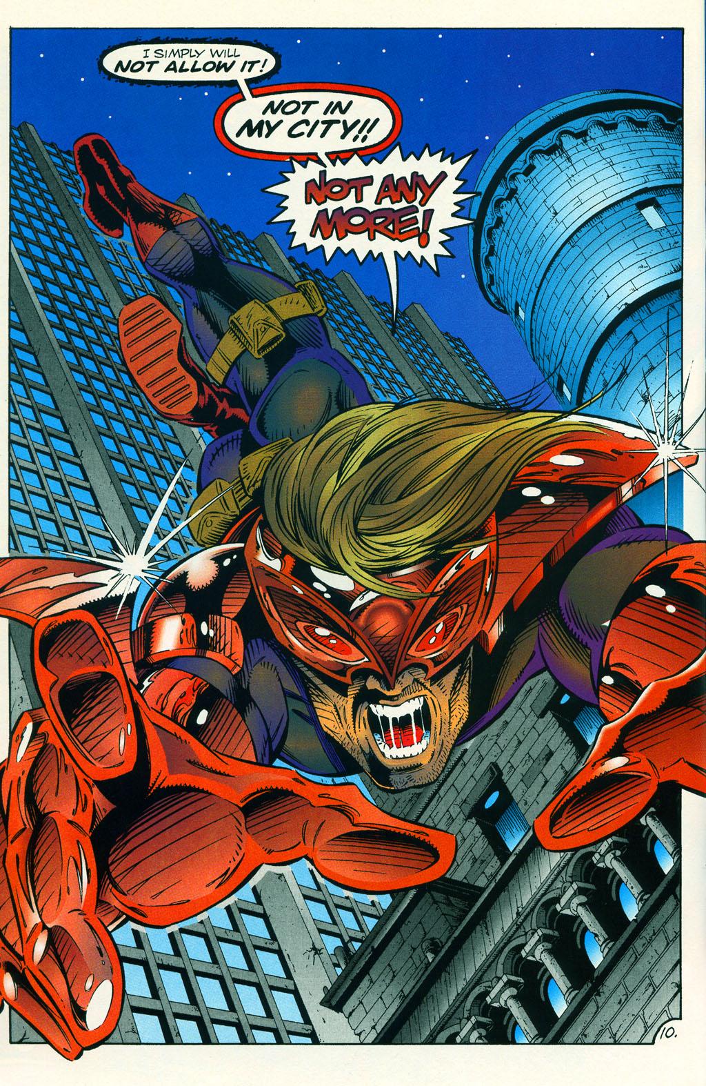 Read online ShadowHawk comic -  Issue #5 - 14